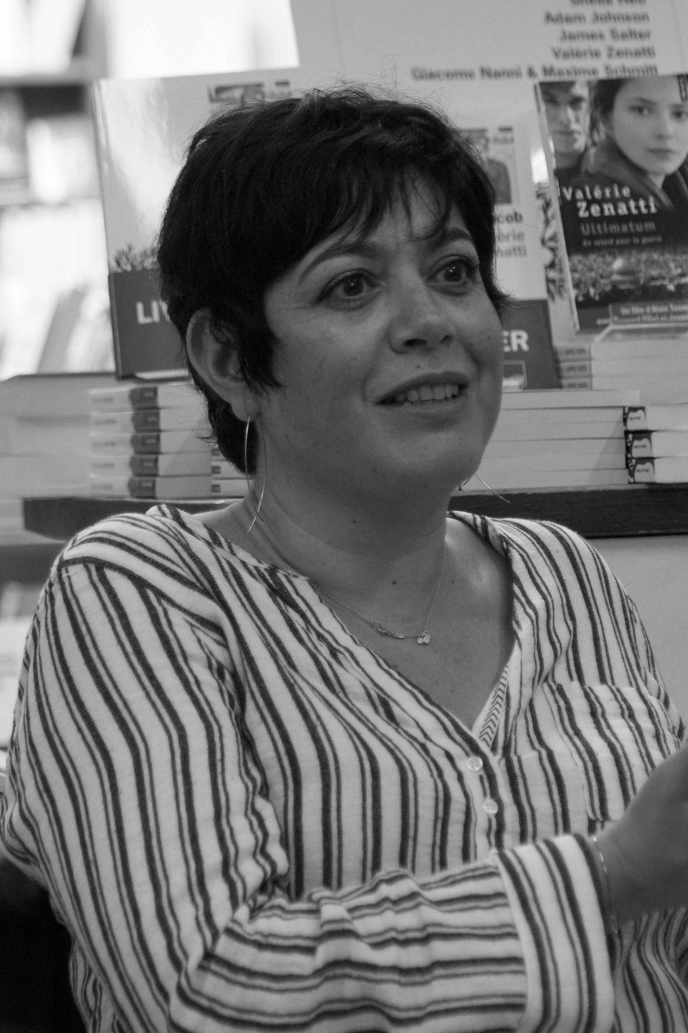 Valérie Zenatti ~ Rencontre à la Librairie Gwalarn pour son roman Jacob, Jacob ; Mardi 24 mai 2016