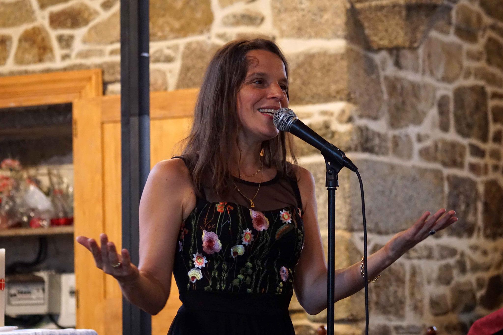 Clarisse Lavanant, Chapelle de Coat Maël, Maël-Pestivien ~ Dimanche 24 septembre 2017