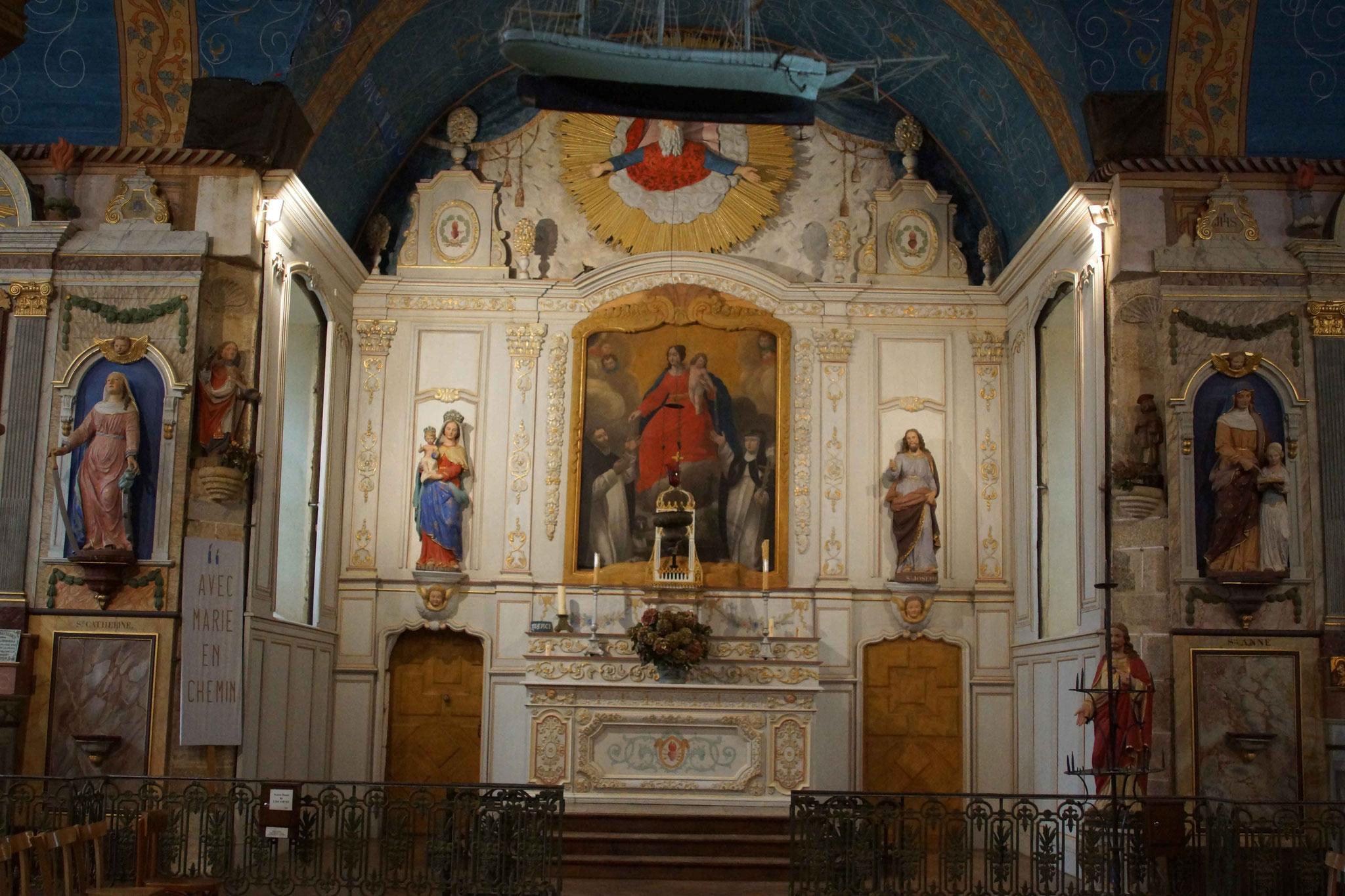 Chapelle de Liscorno, à Lannebert