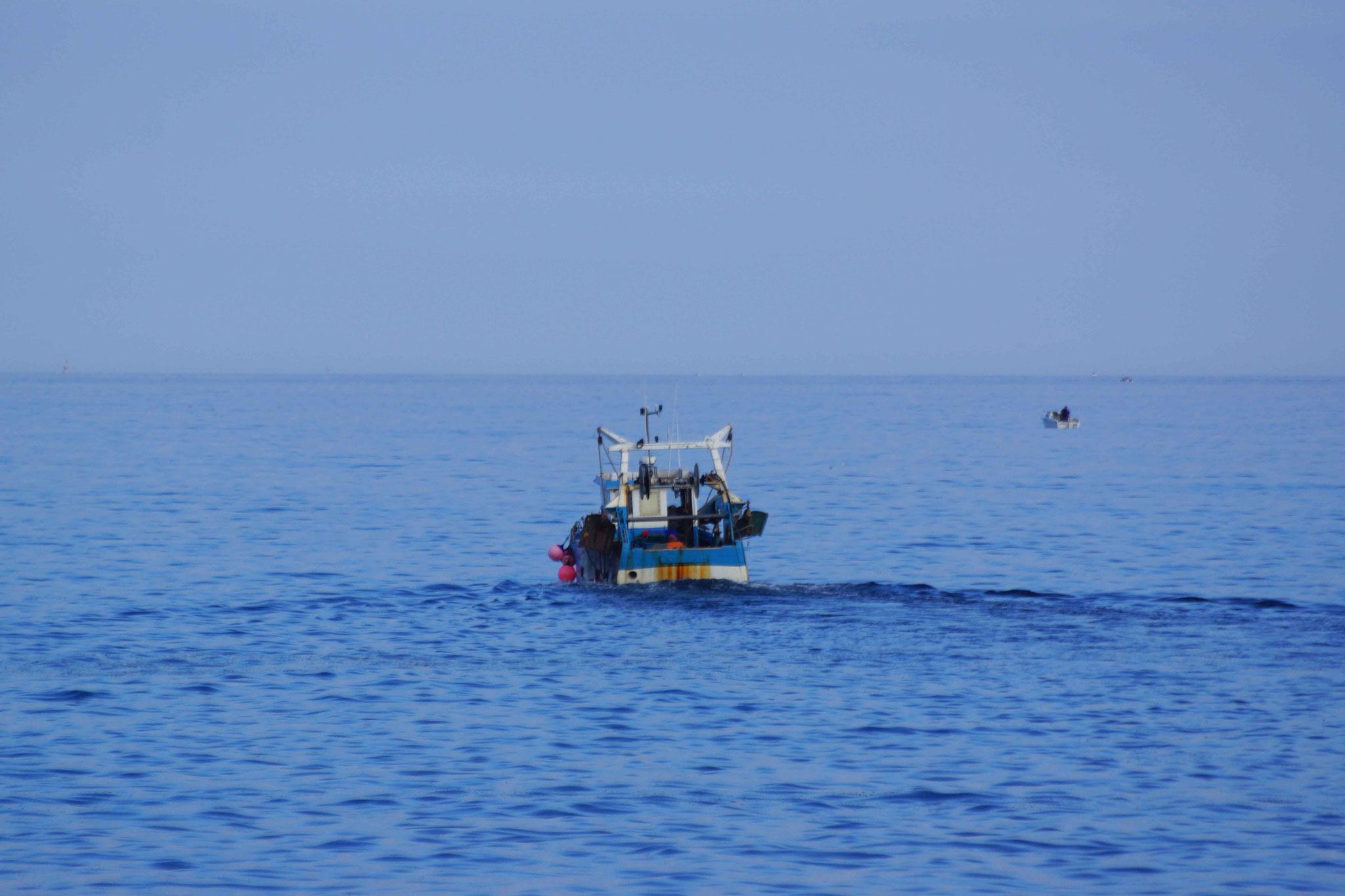 la route de la pêche