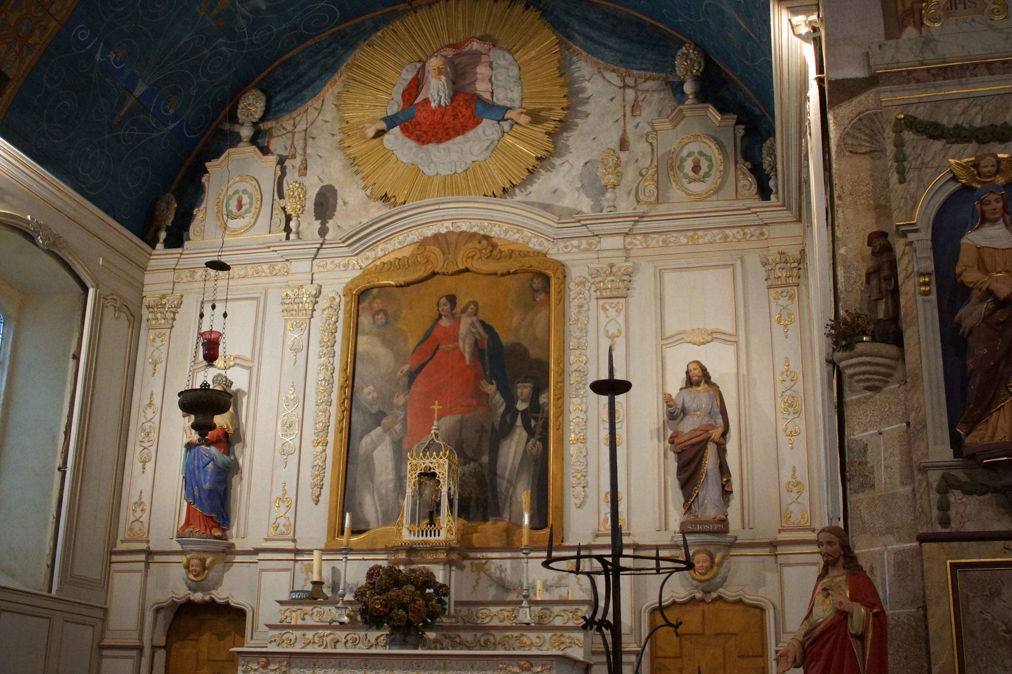 Chapelle de Liscorno, à Lannebert 7