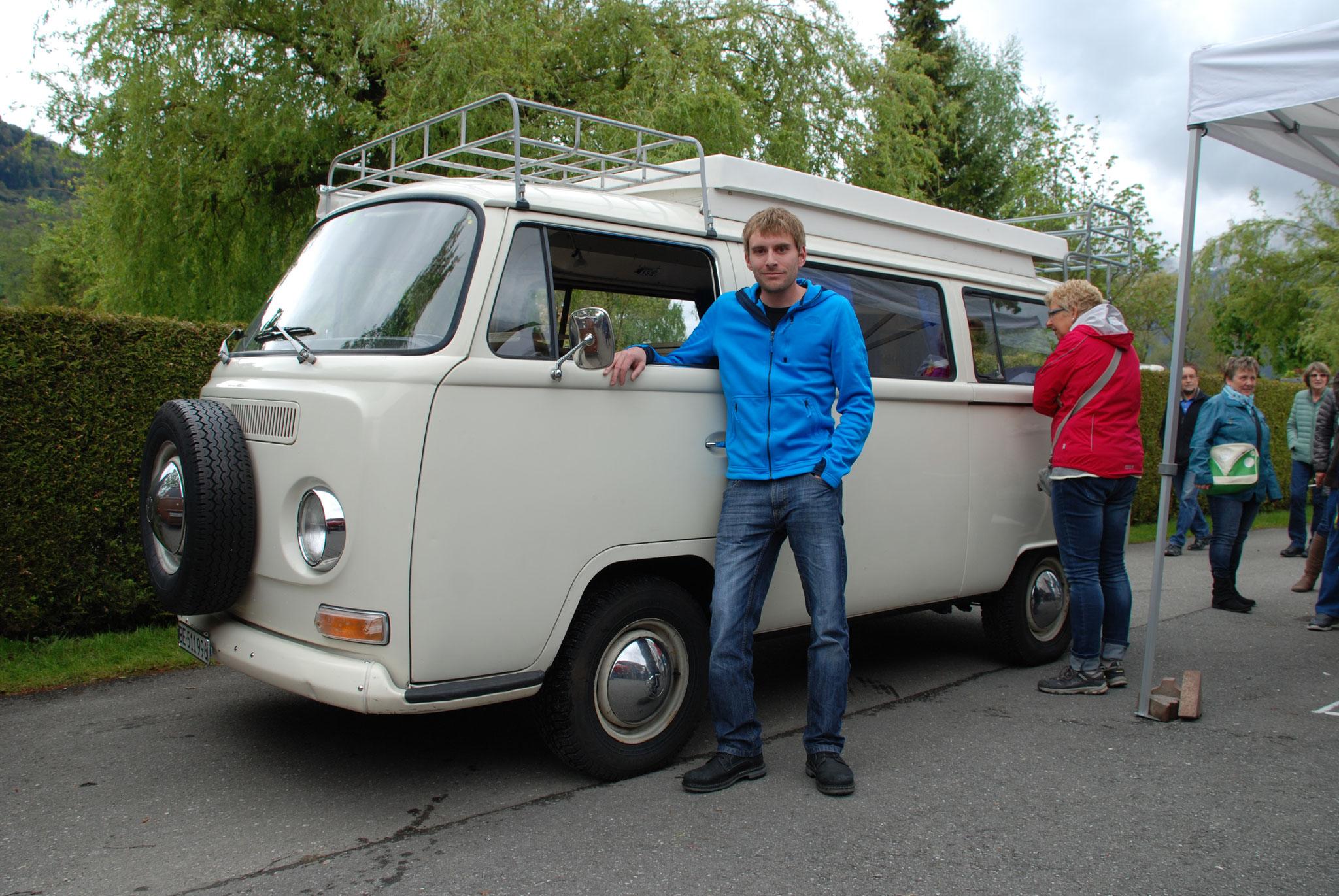 VW Buss T2a Camper von Marco Santschi (Kategorie VW Bus Typ 2)