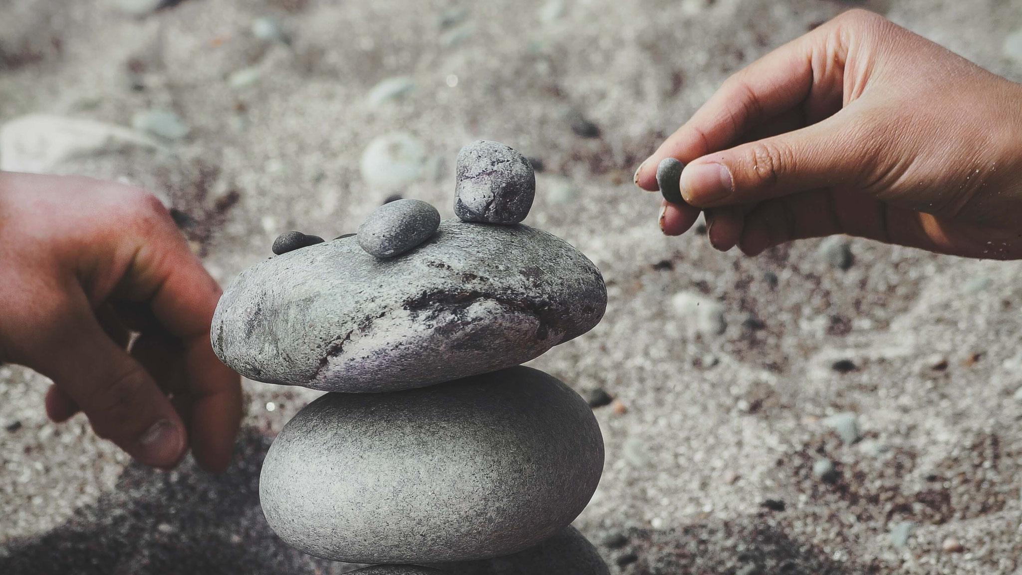 Das Gleichgewicht wieder herstellen