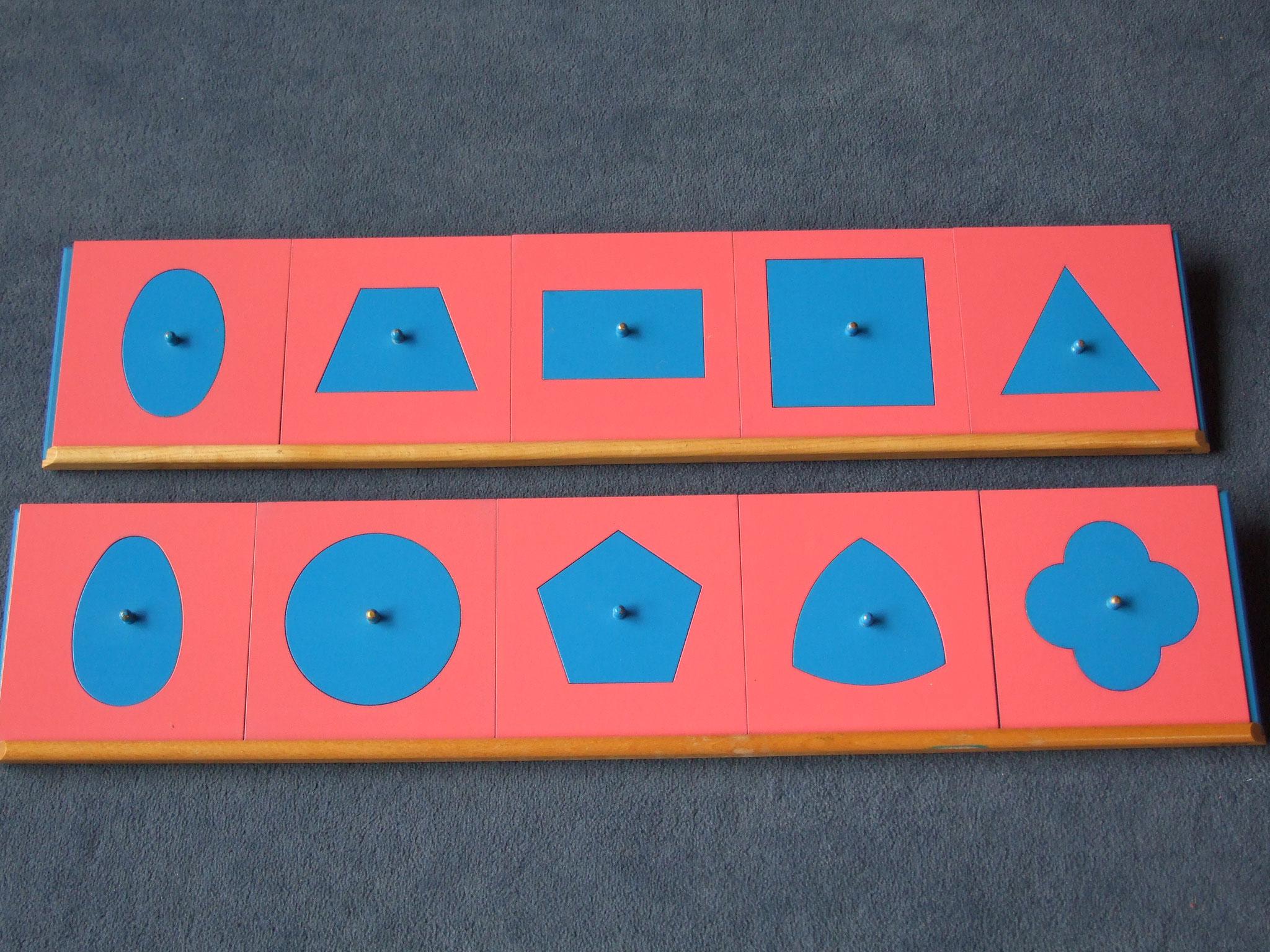 Metallene Einsatzfiguren mit Ständer