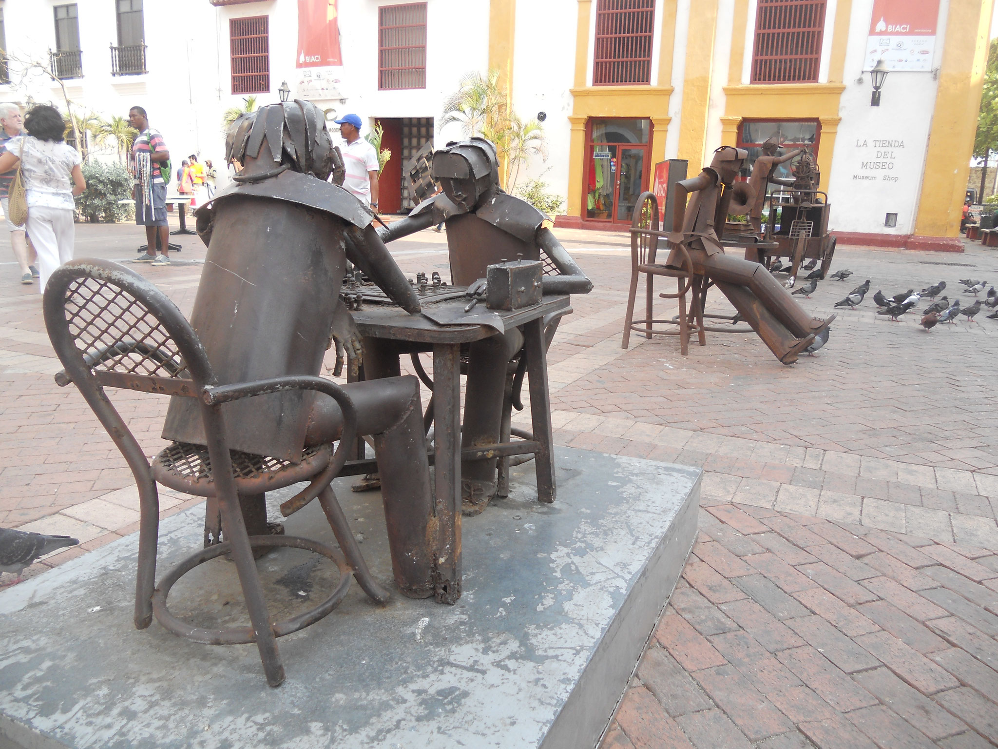Schachspieler in Cartagena ©DanielGreiner