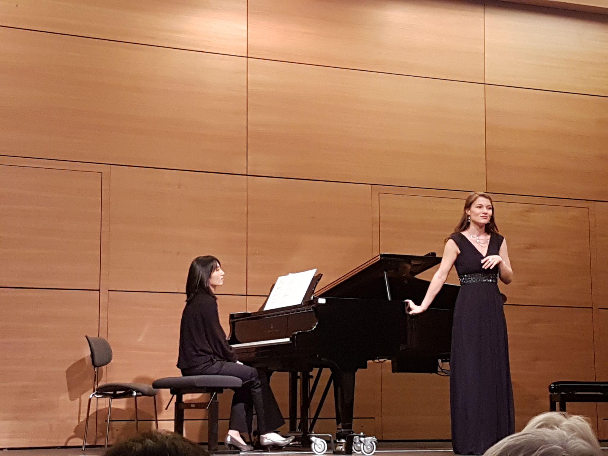 Konzert in Kooperation mit der Hochschule für Musik am 1.12.2017