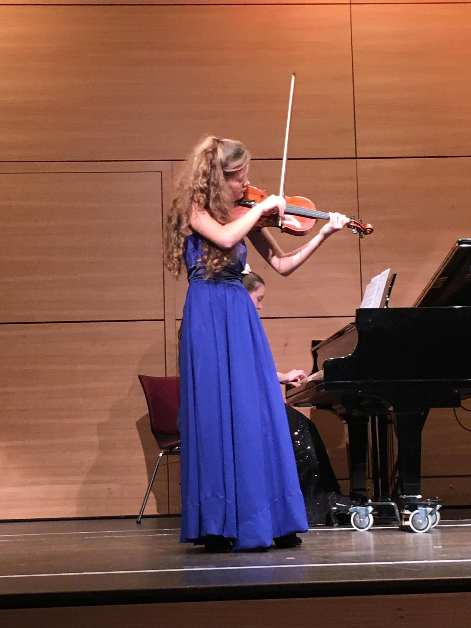 Konzert in Kooperation mit der Hochschule für Musik am 2.12.2016