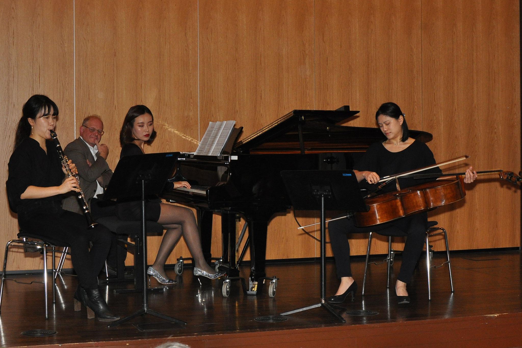 Konzert in Kooperation mit der Hochschule für Musik am 13.11.2018