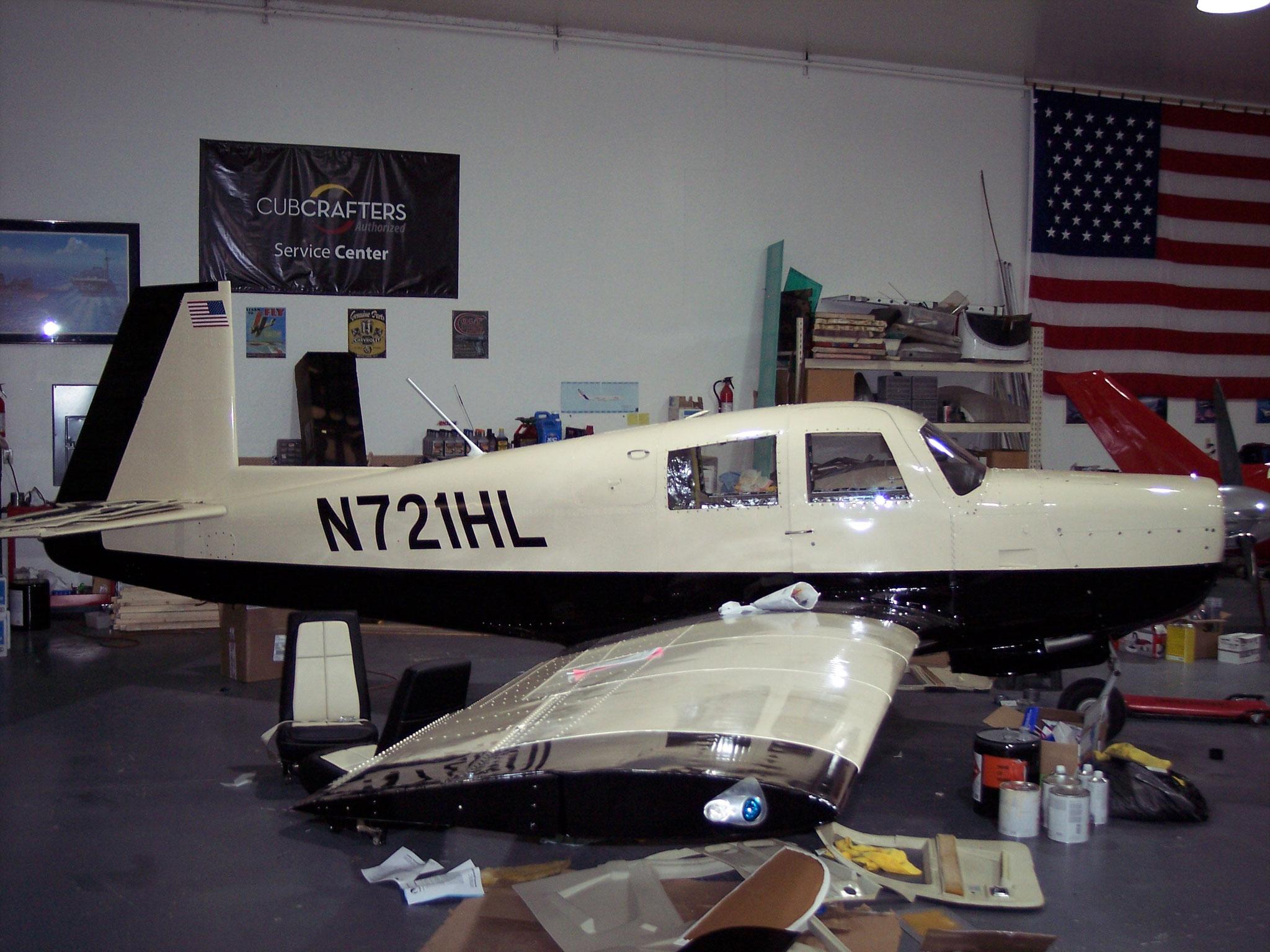 1970 M20E Mooney Restoration - After
