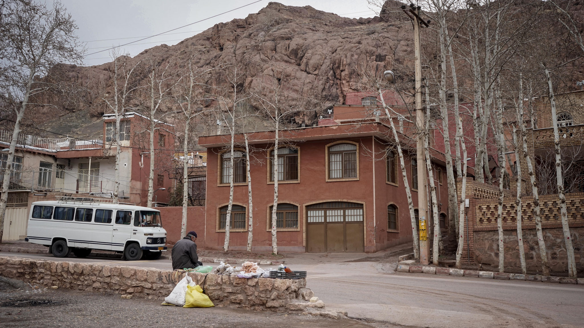 Abuyaneh, Rotes Dorf im Iran