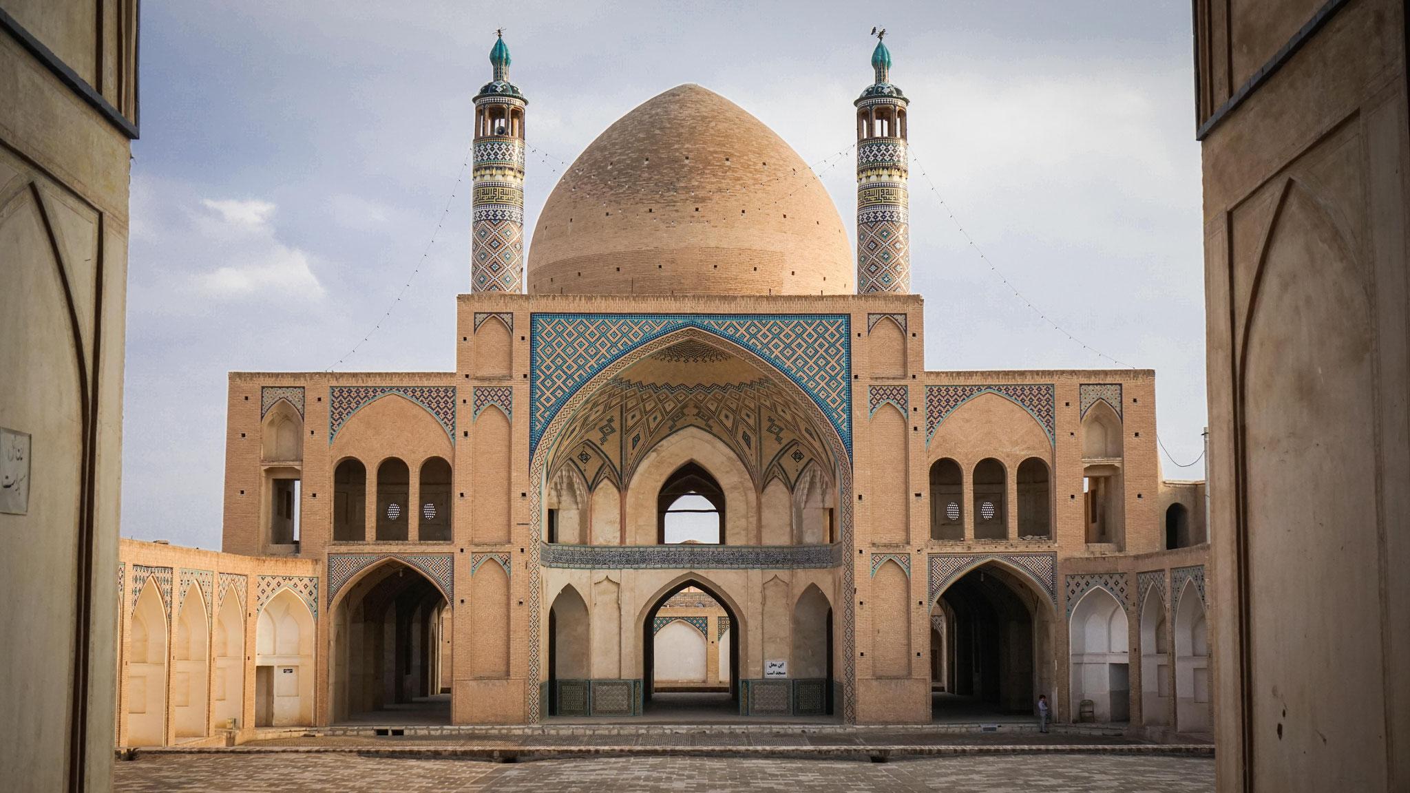 Agha Bozorg Moschee, Kashan, Iran