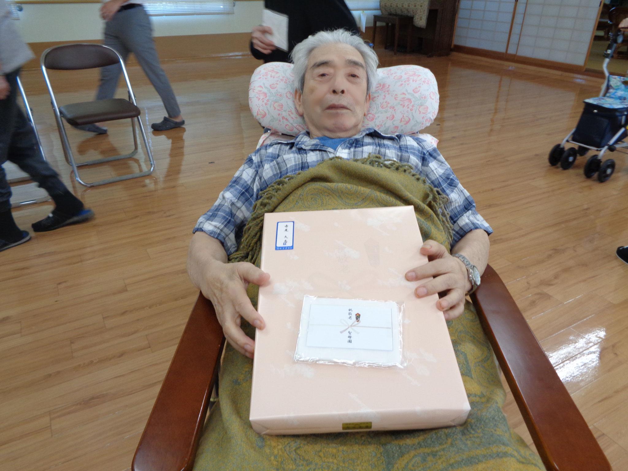 米寿を迎えられた赤尾久志様です。