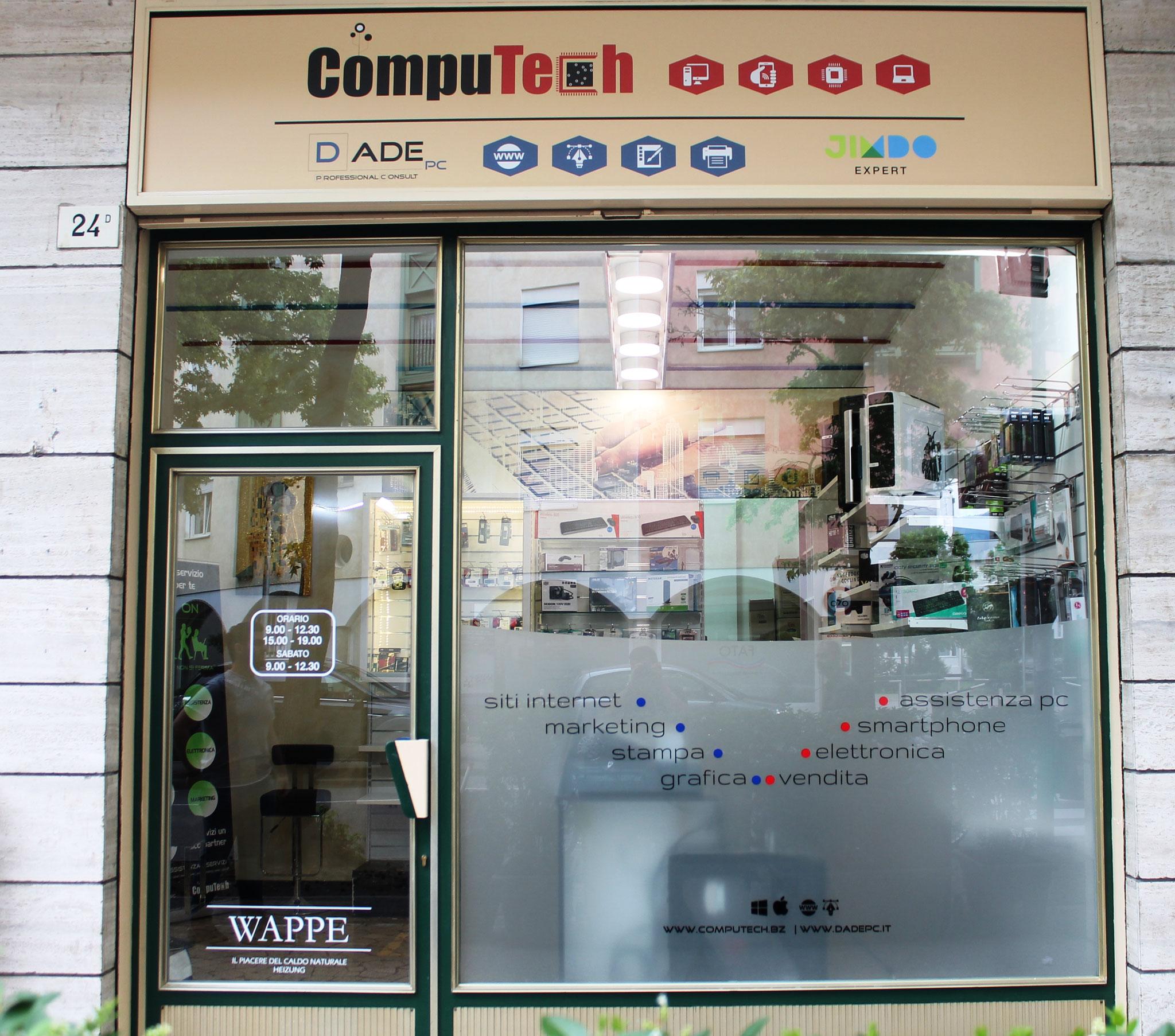 Computech - assistenza tecnica Pc tablet smartphone Bolzano