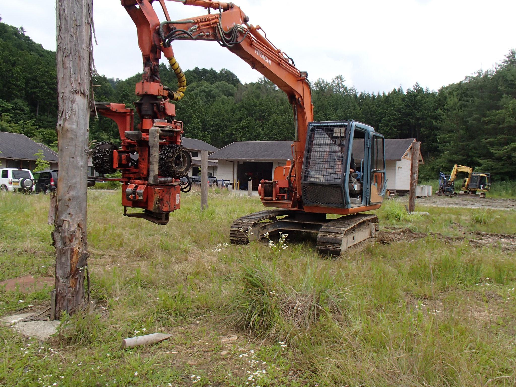 伐木等機械運転業務特別教育
