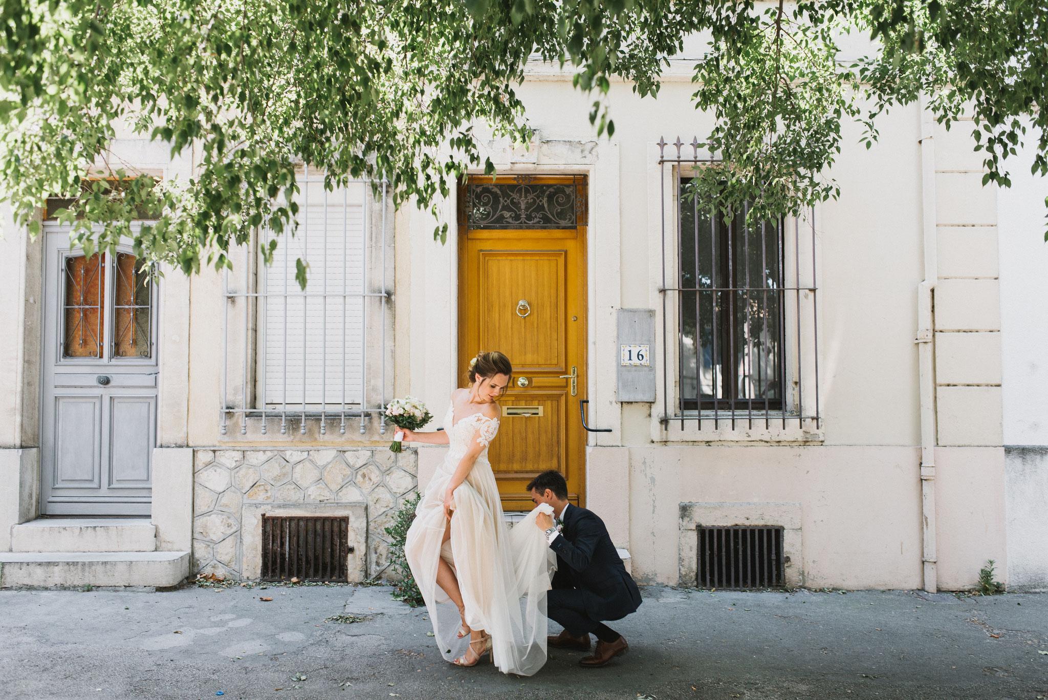 свадьба в Провансе