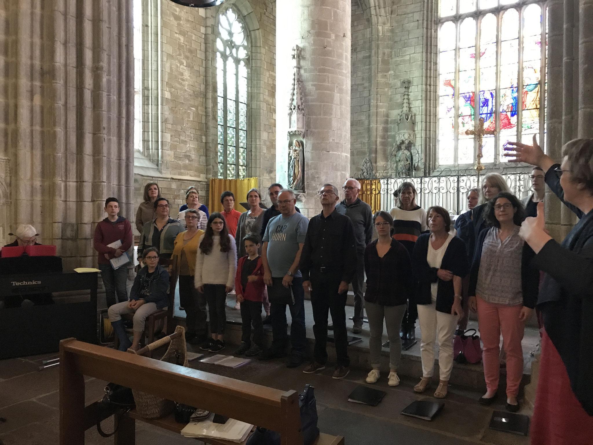 Concert du 17 juin à l'église St. Michel de Qlé