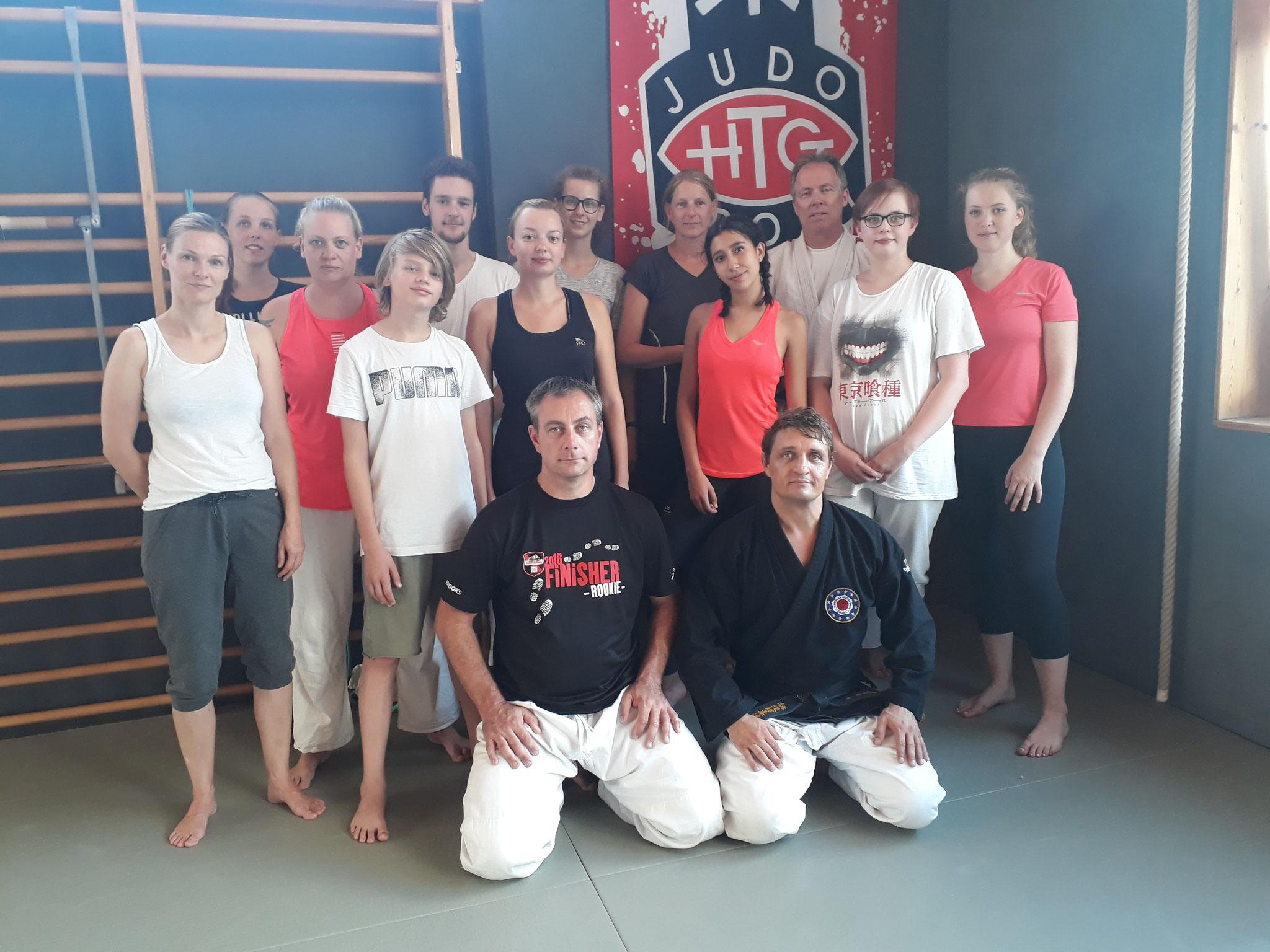 Es war ein guter Workshop mit 13 Teilnehmern.