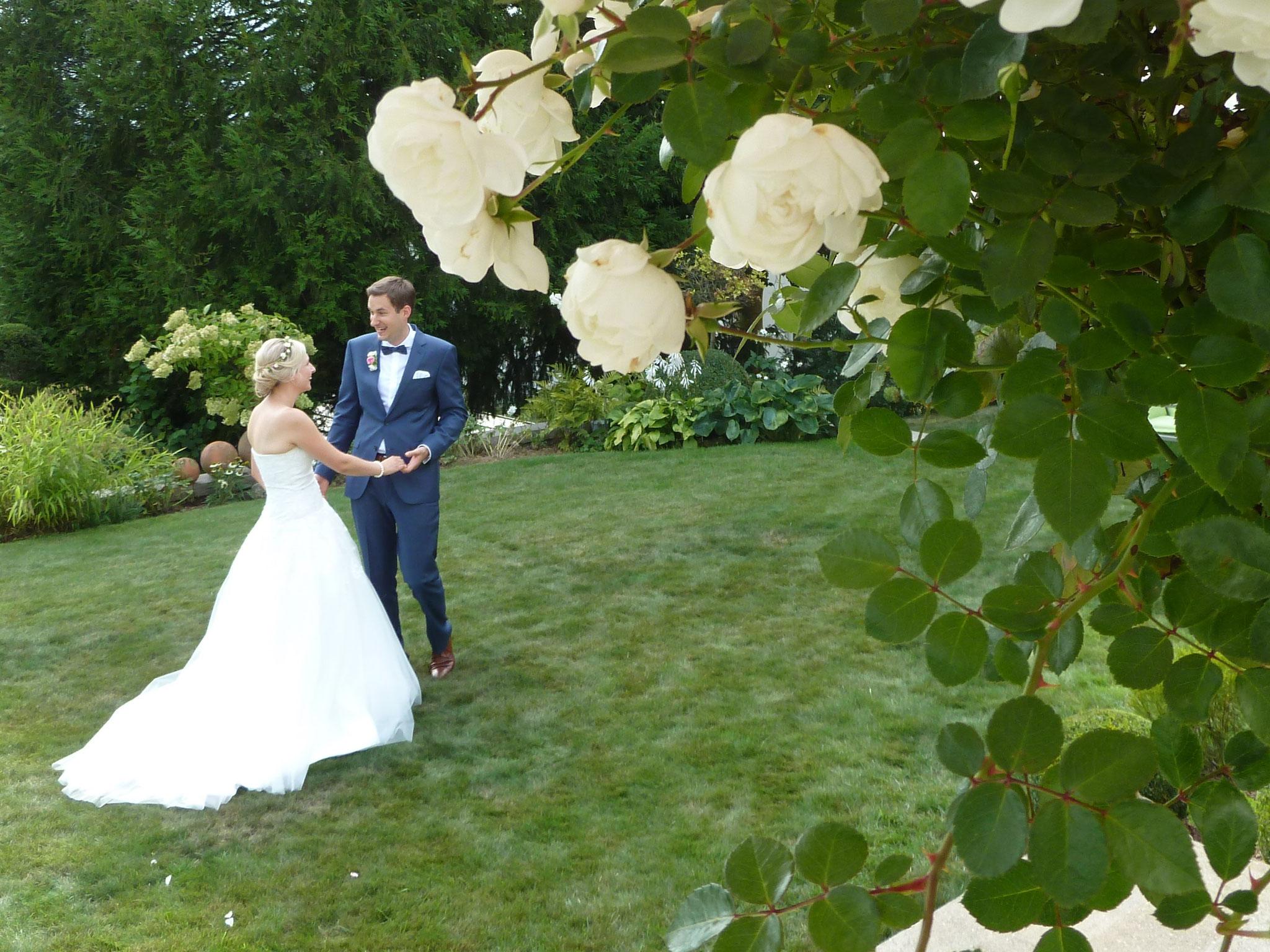 Herzlichen Glückwunsch Daniel & Kathrin