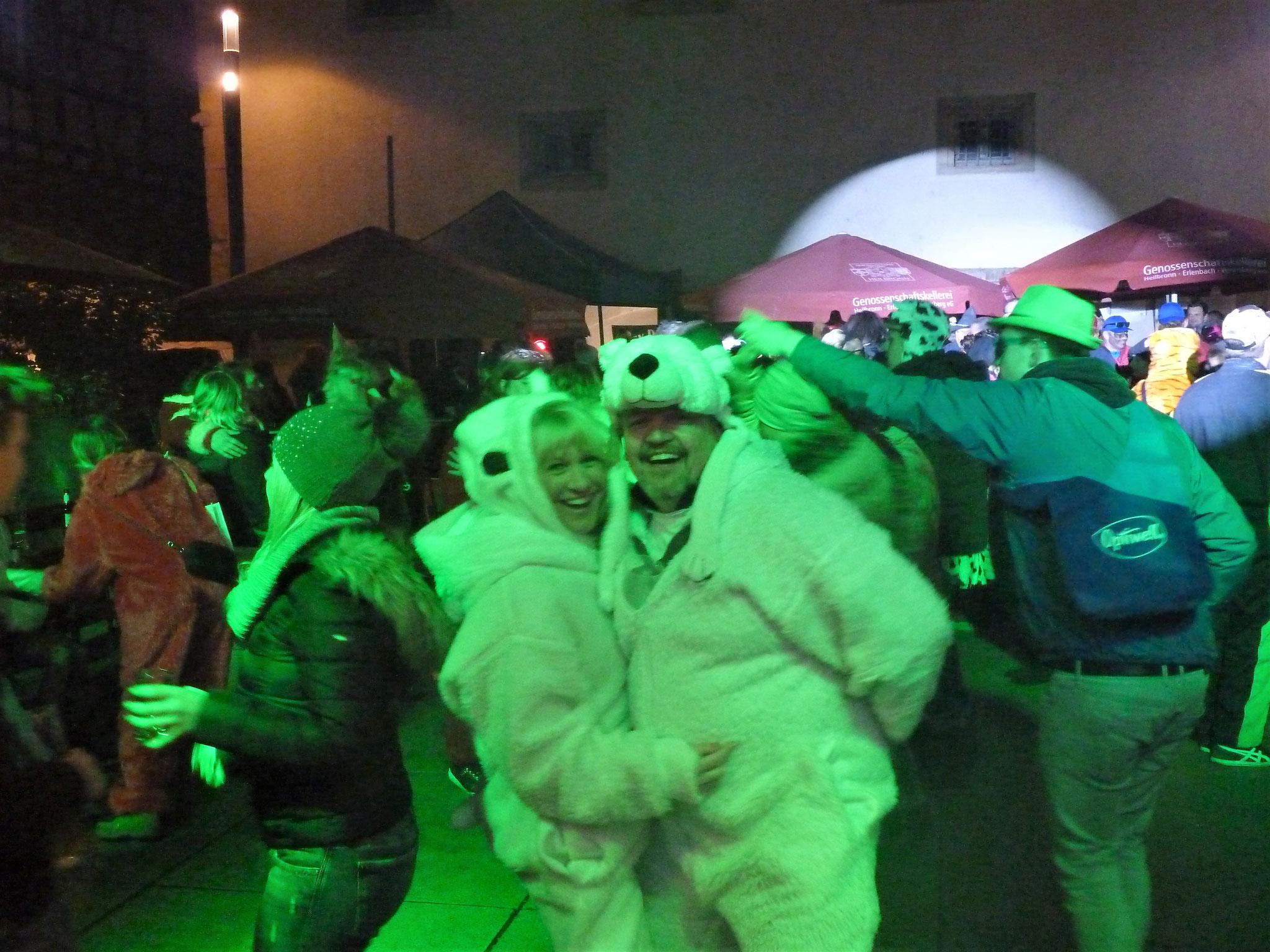 ...auch Eisbären können grün sein