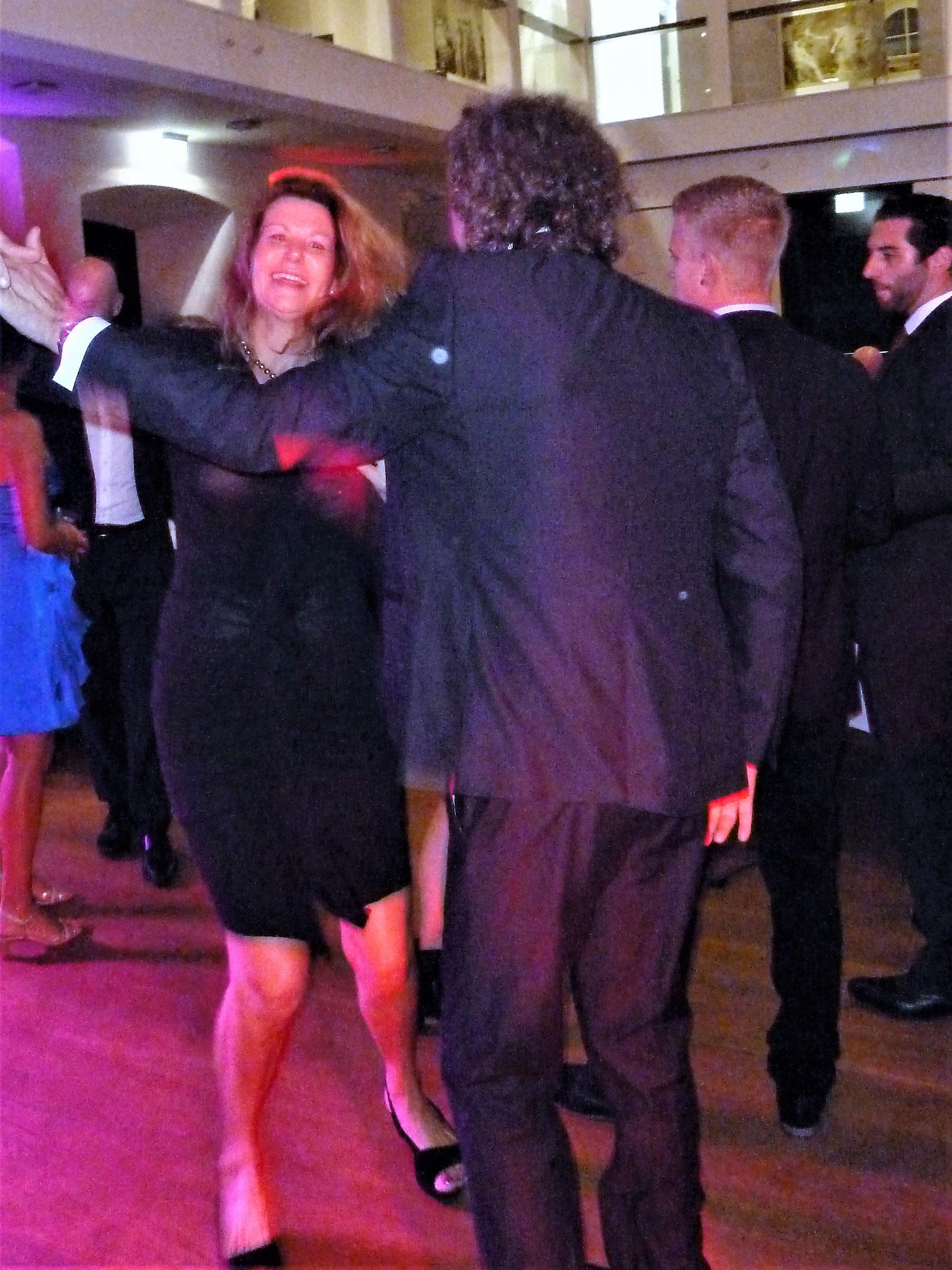 und natürlich tanzen