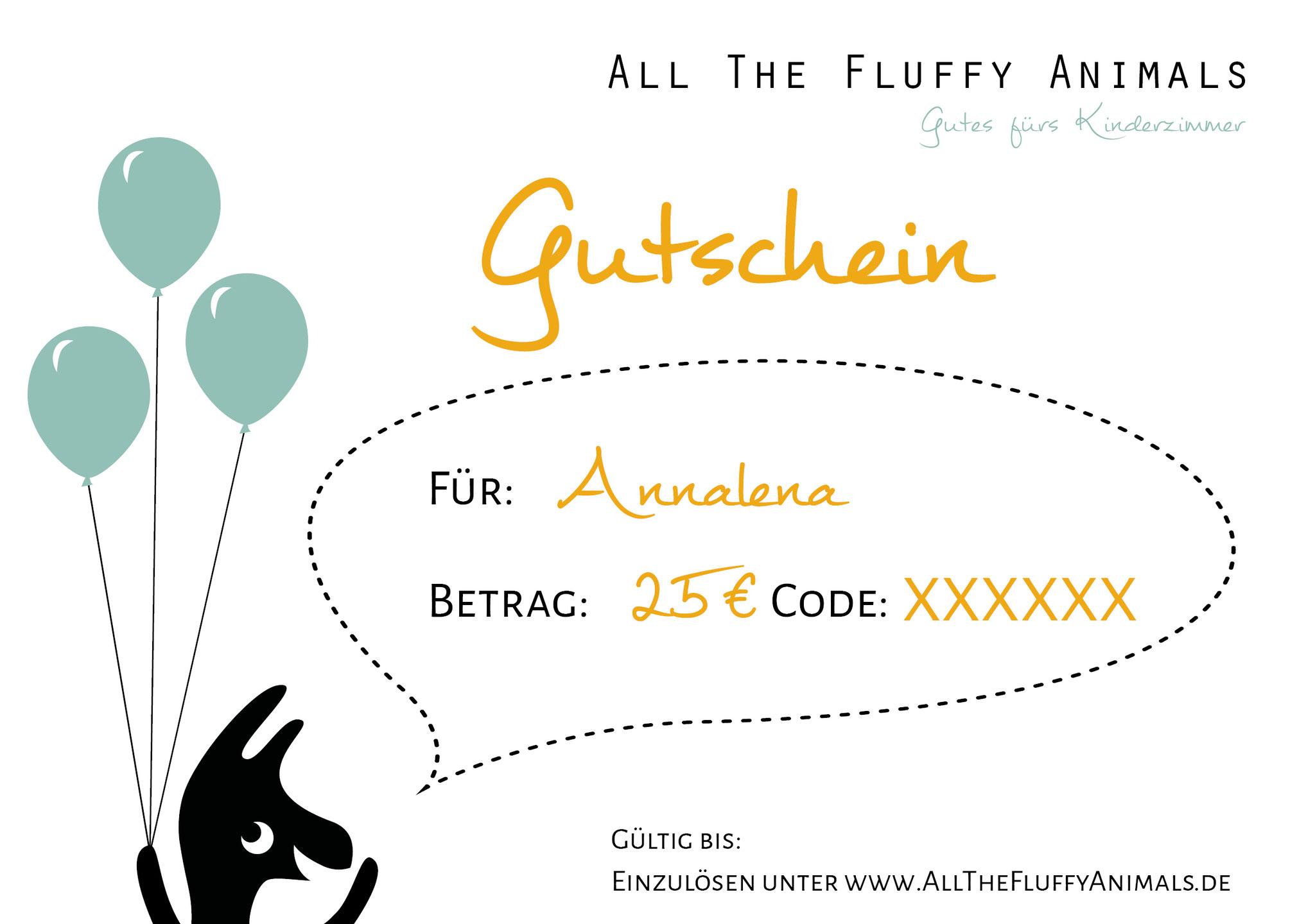 """Gutschein """"Geburtstag"""""""