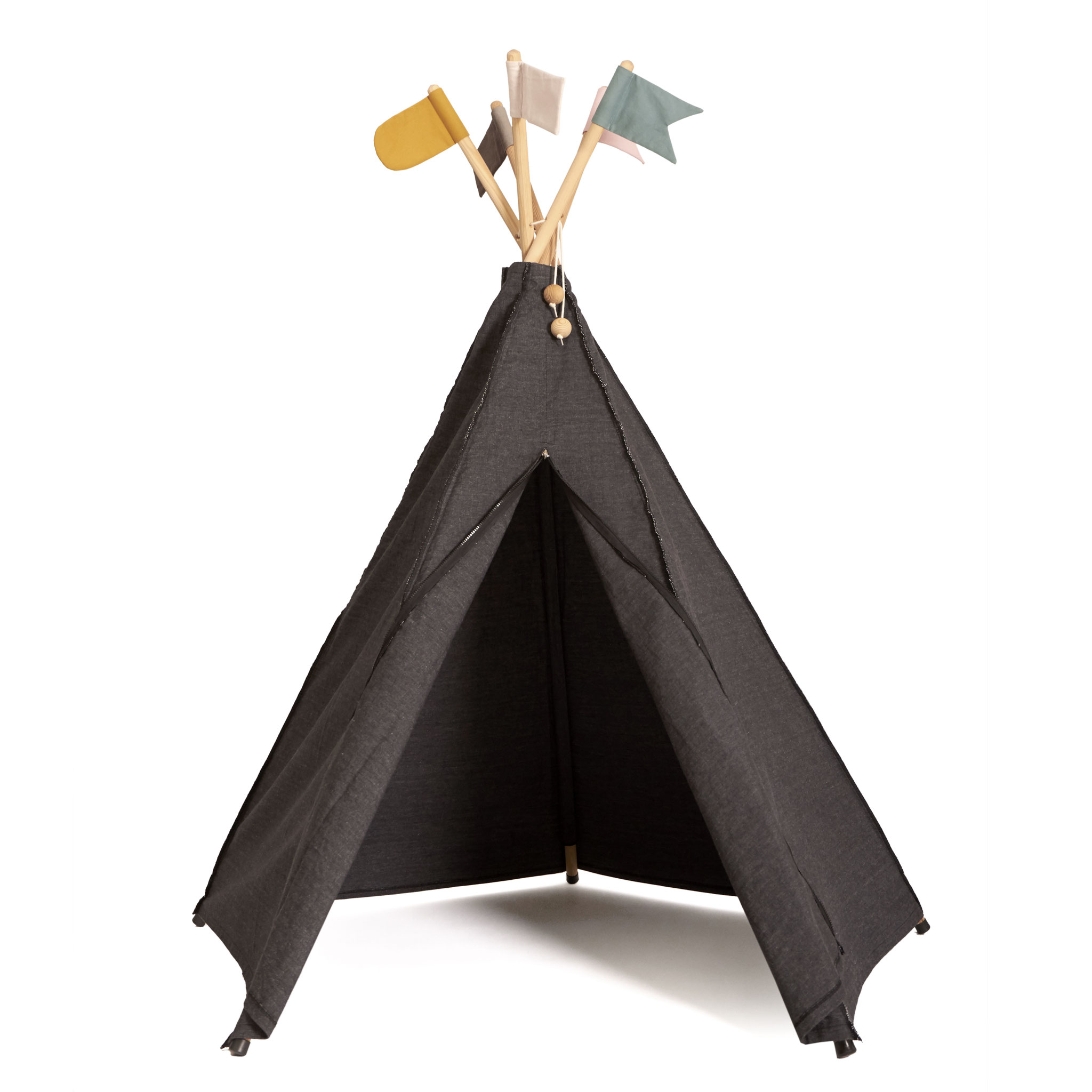 roommate Hippie Tipi Anthrazit