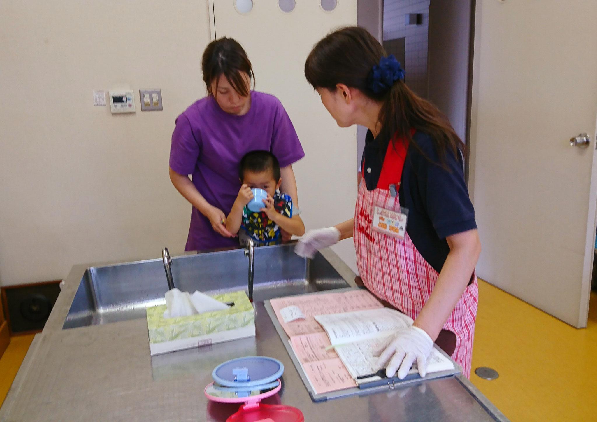 坂井市3歳児健診指導