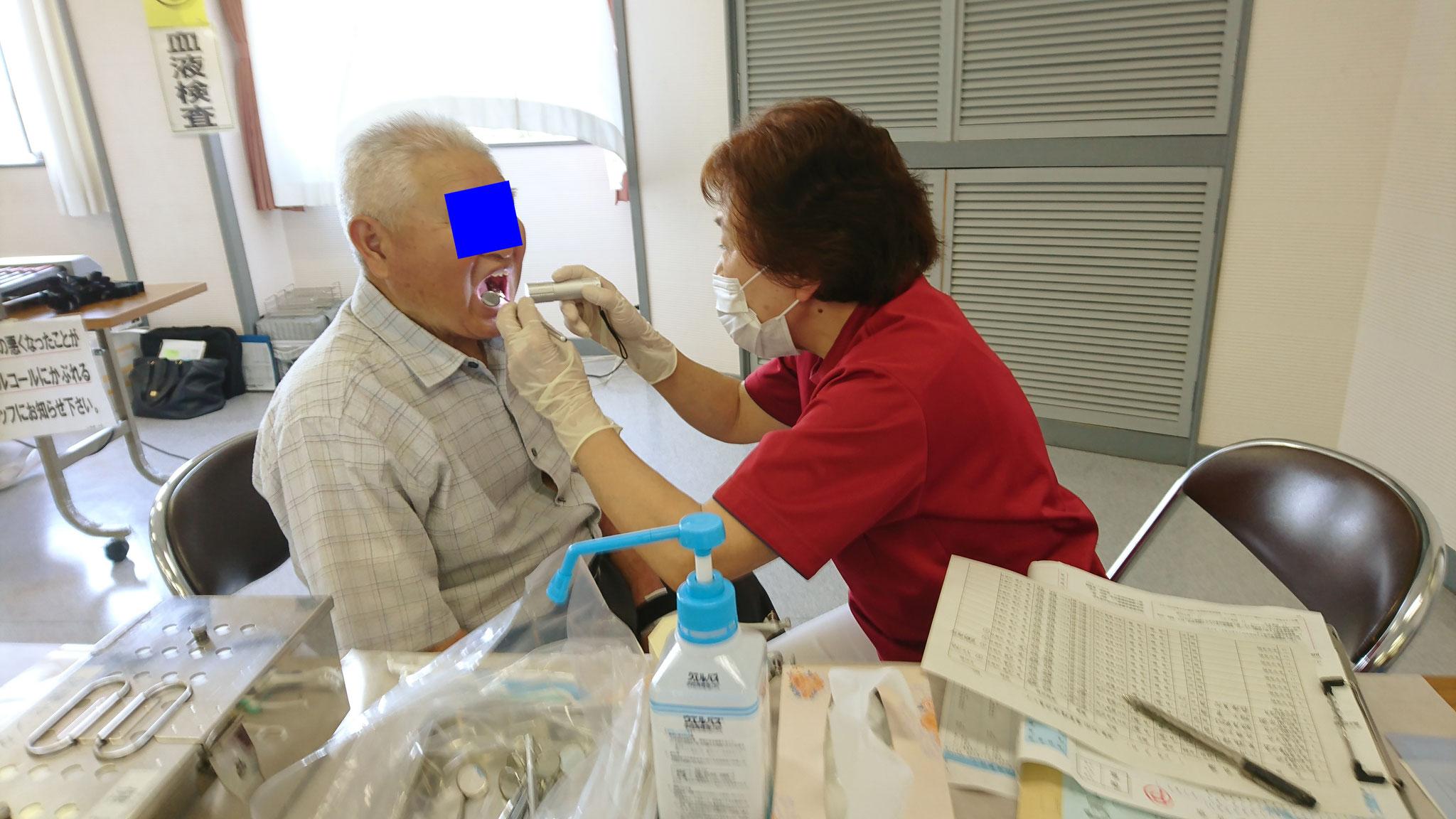 永平寺町成人健診歯科保健指導