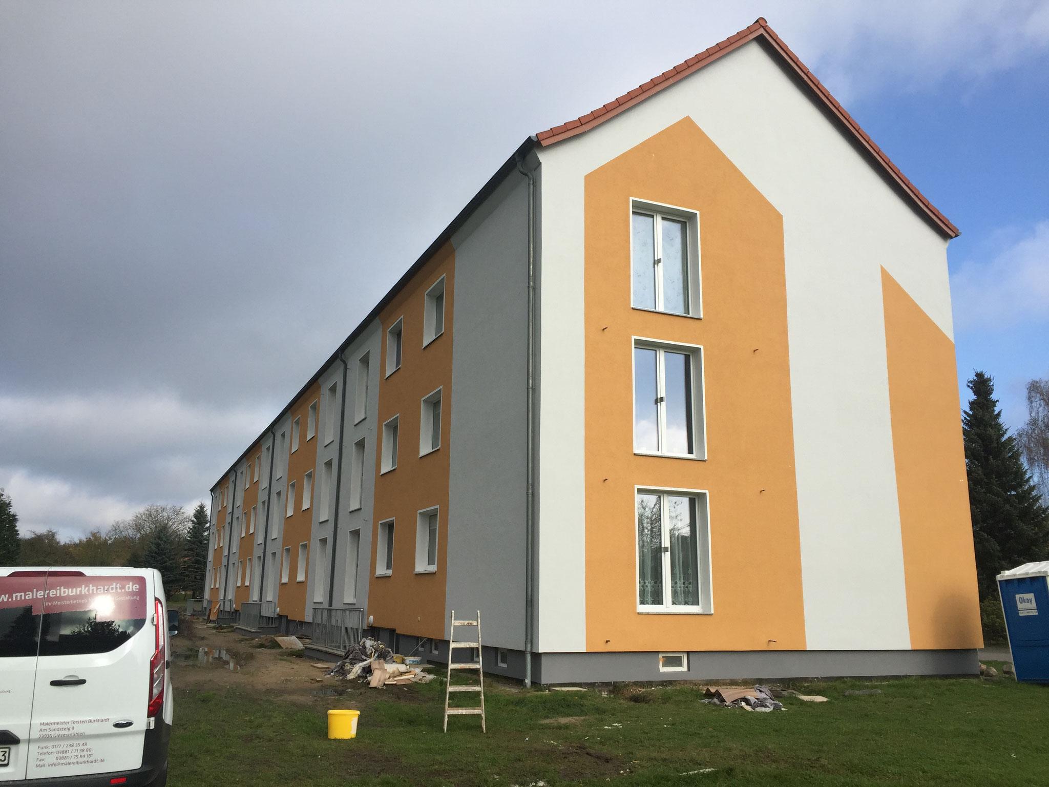 Malerei Burkhardt Fassadengestaltung