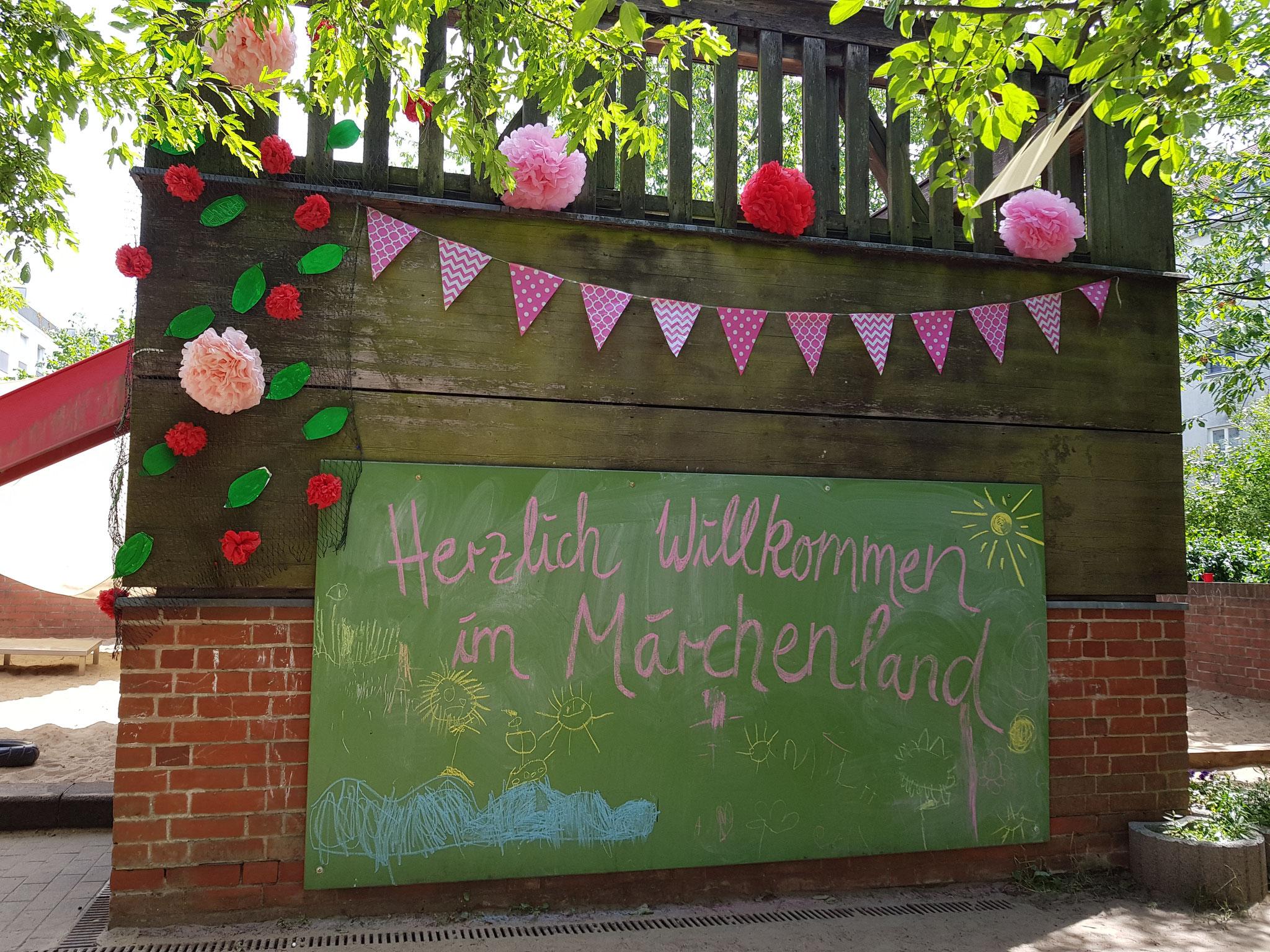 Willkommen in unserem Märchenland!