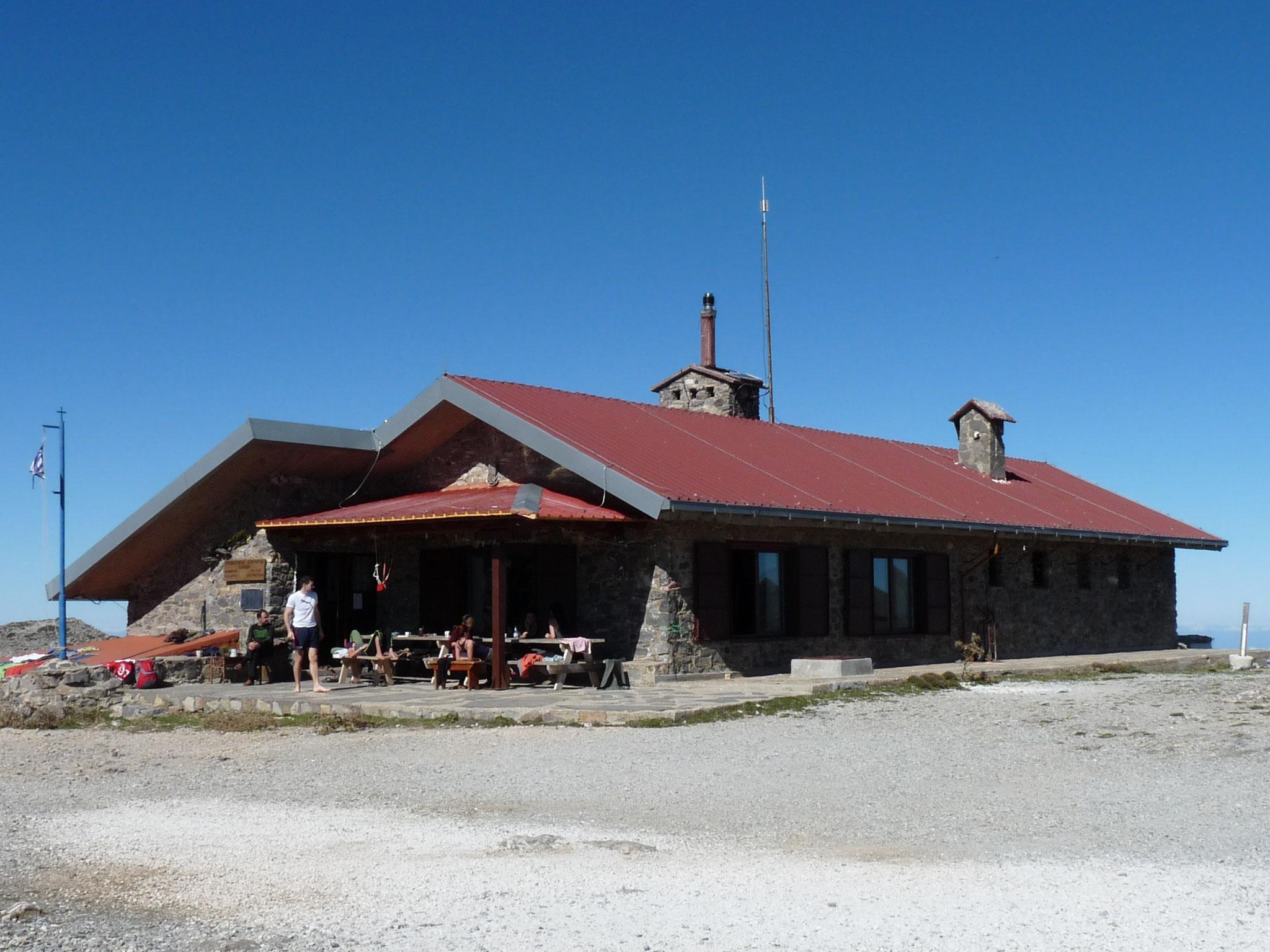Die Kallergi Berghütte (1682 m)