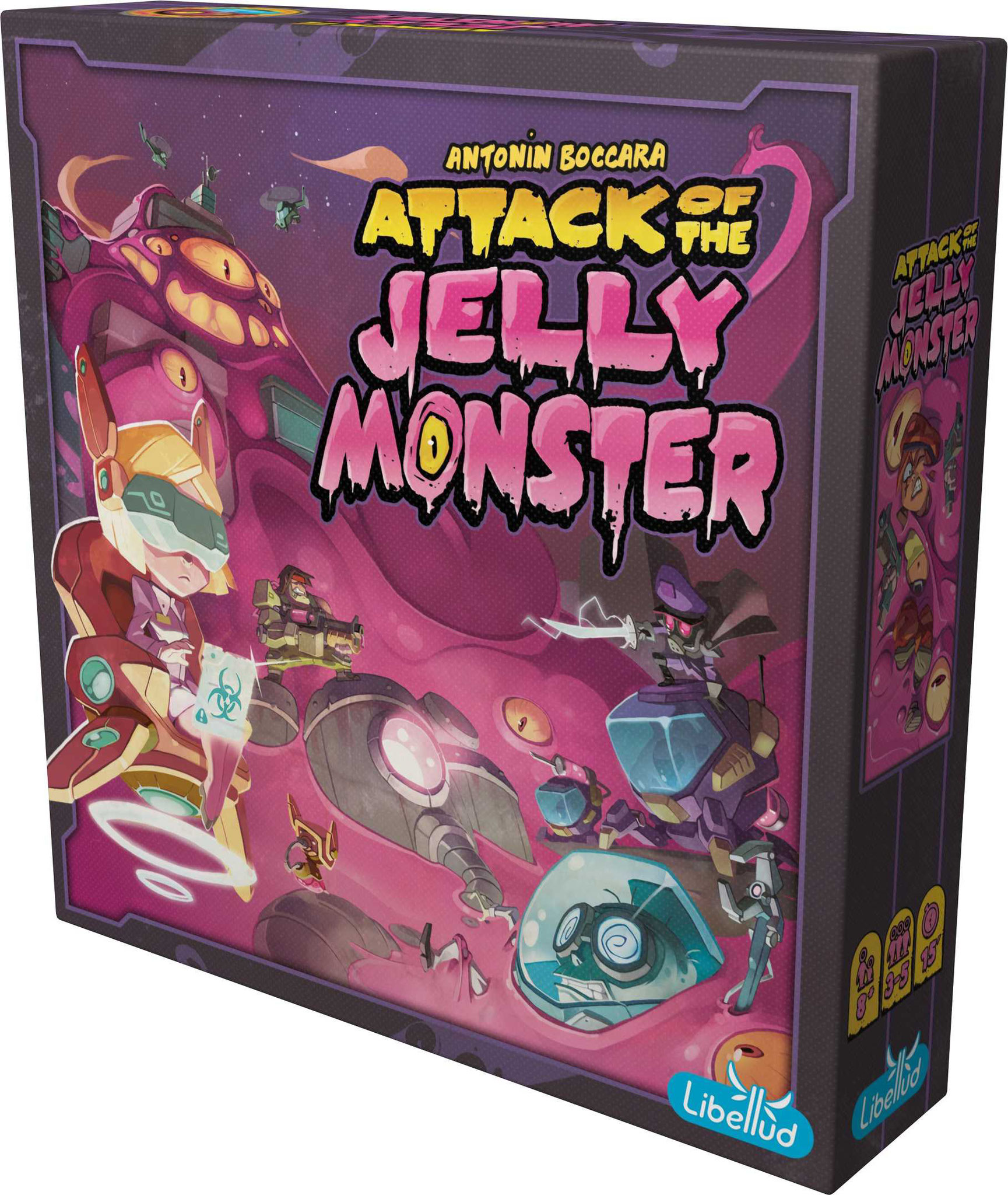 Attack of jelly monster [Libellud]