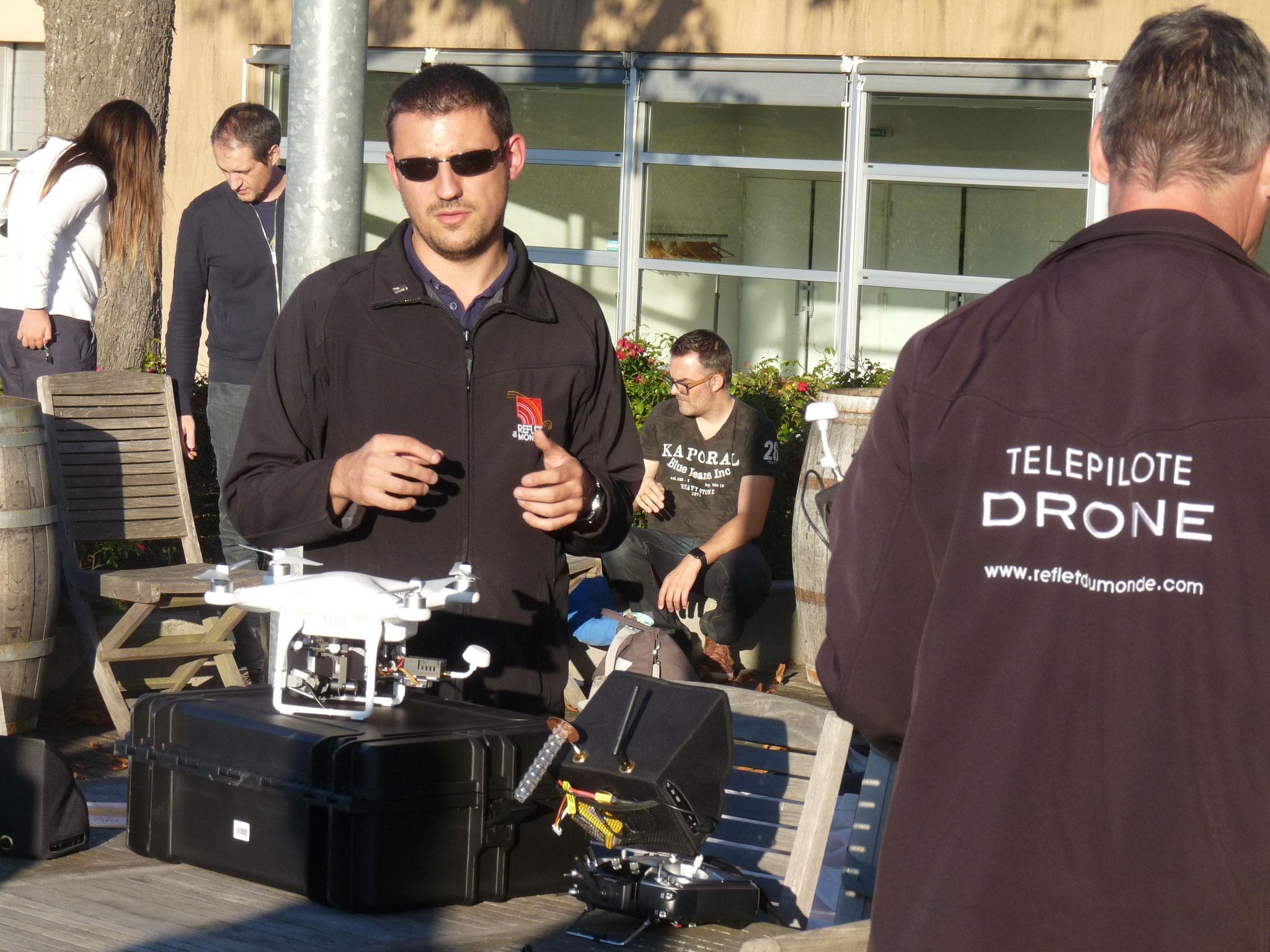 Les professionnels de télépilote Drone donnent des conseils ( P. Guillot)