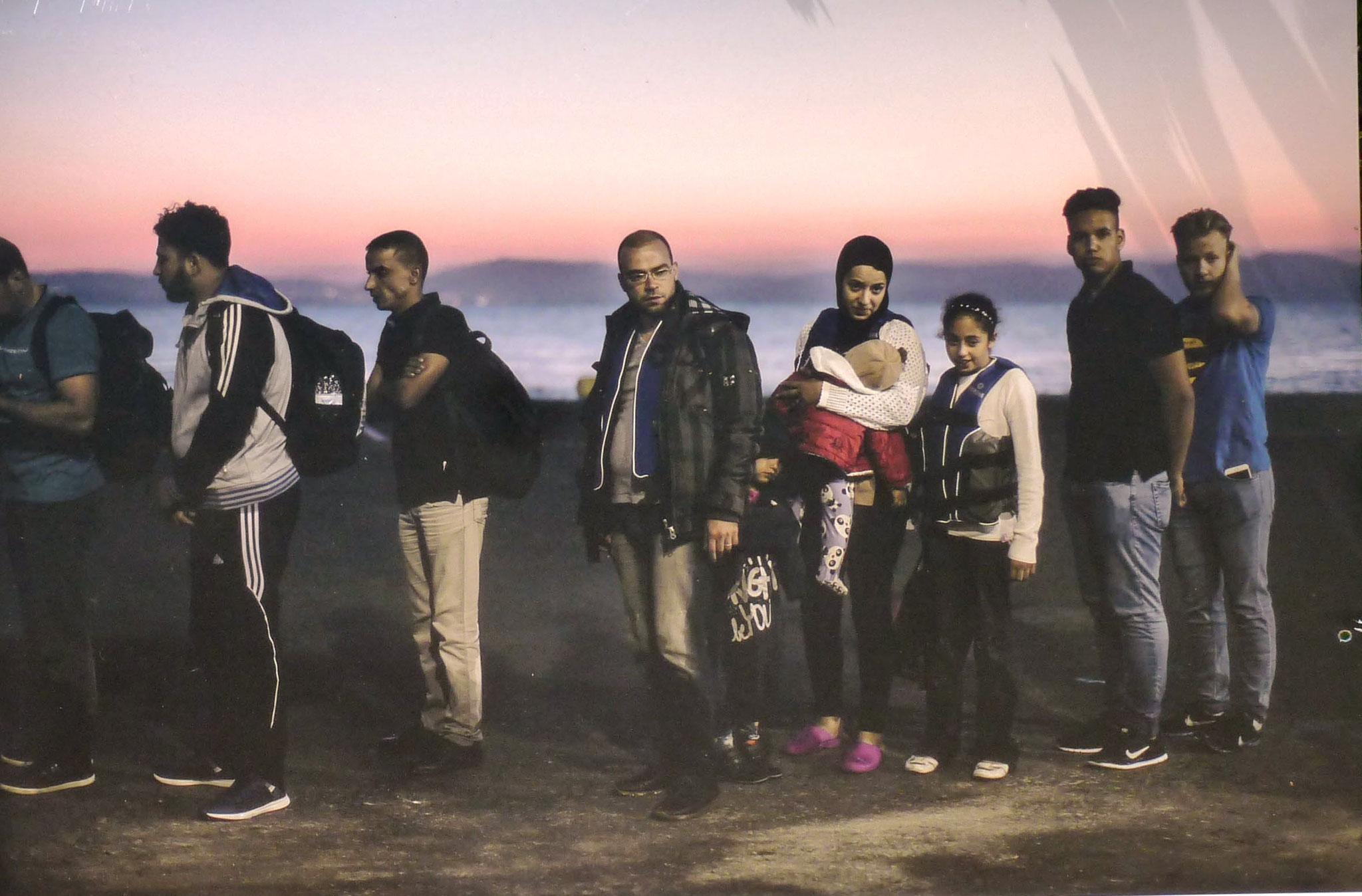 Des migrants, île de Kos en 2015 (photojournalismeXXI)