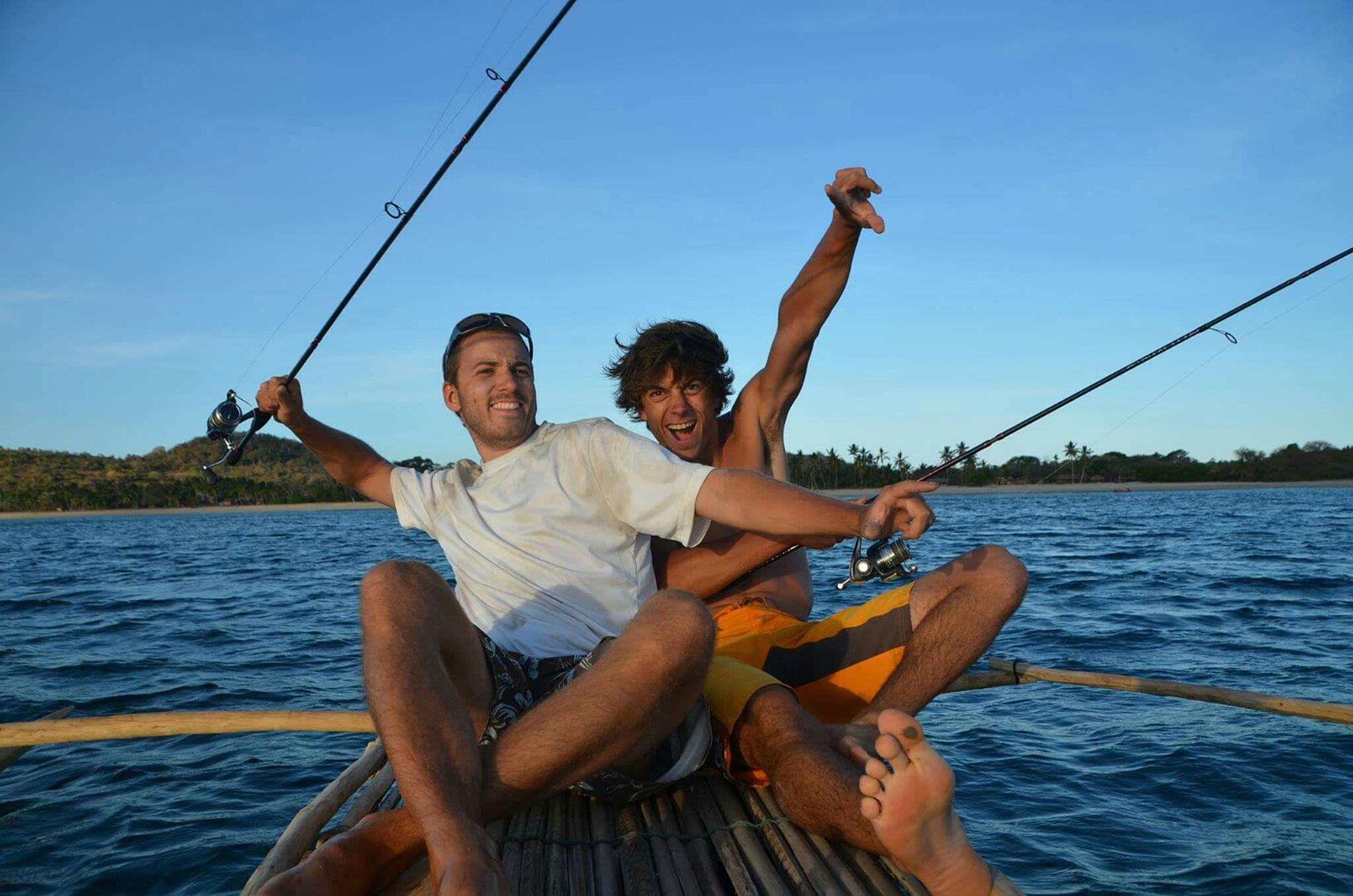 C'est la fête, la pêche a été bonne (photos de  Mercé Cantana Arcediano)