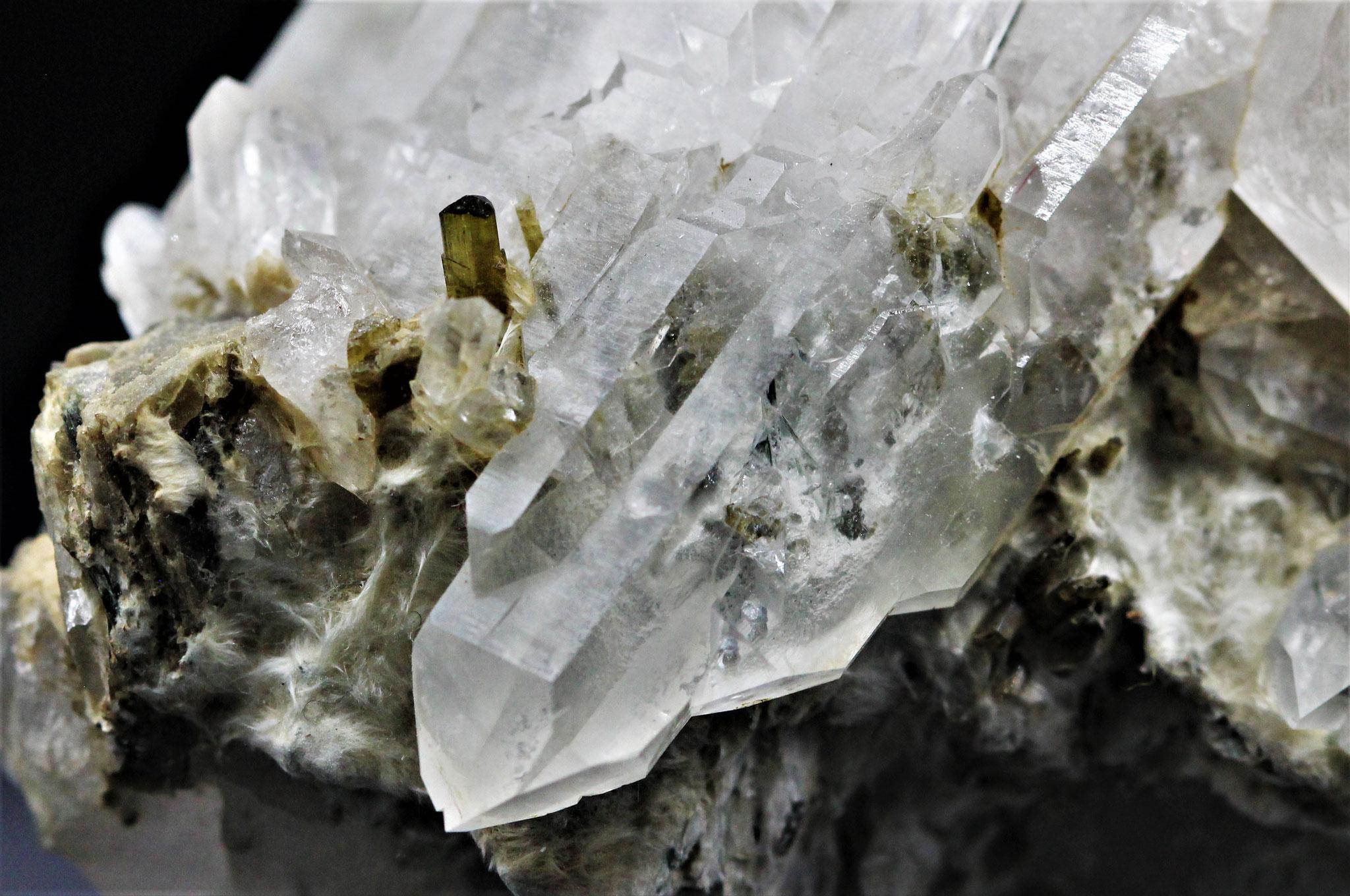 Bergkristall, Epidot - Val Cavrein