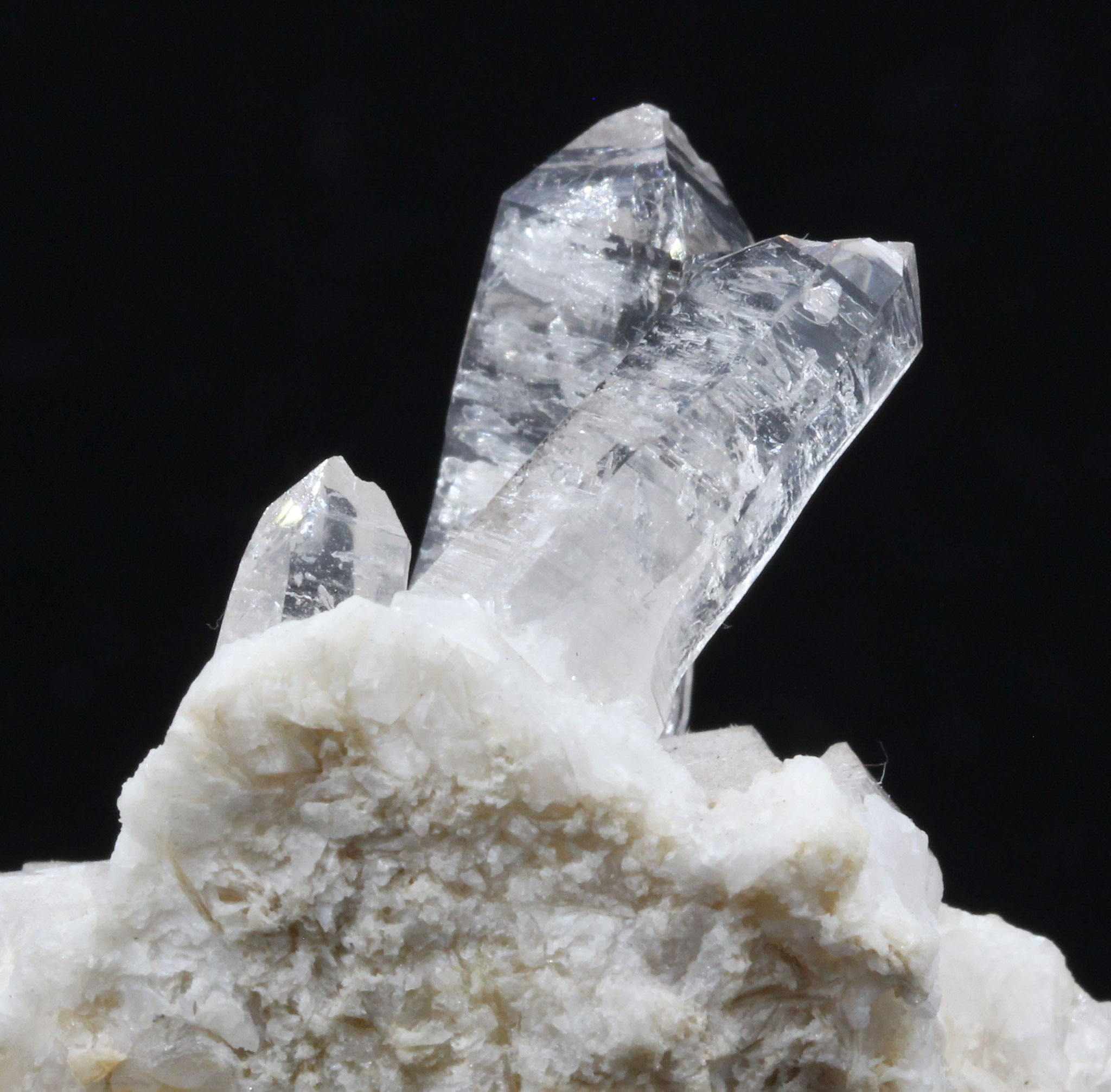 Bergkristall (Muzo Habitus) - Elba