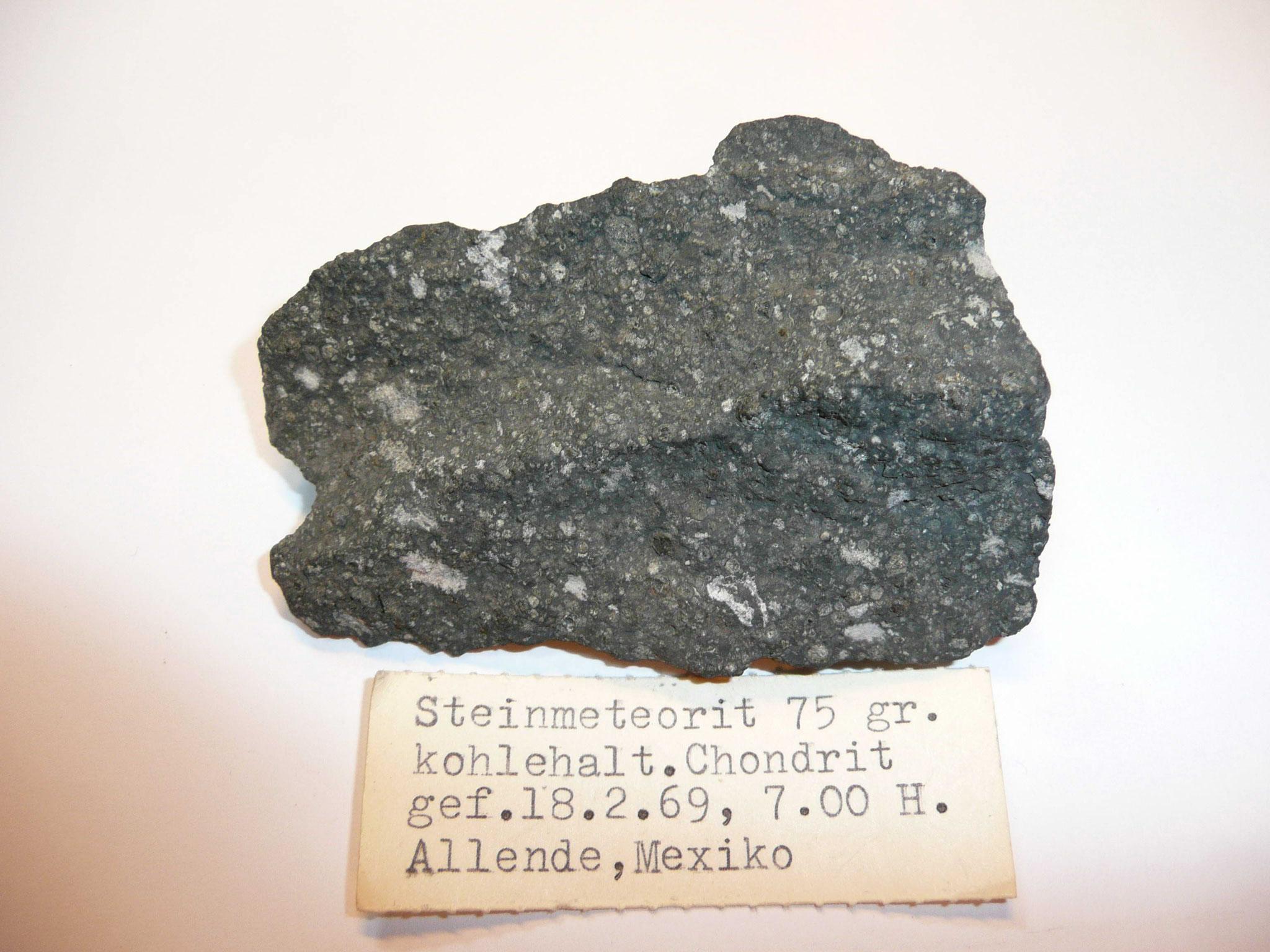 Steinmeteorit Allende