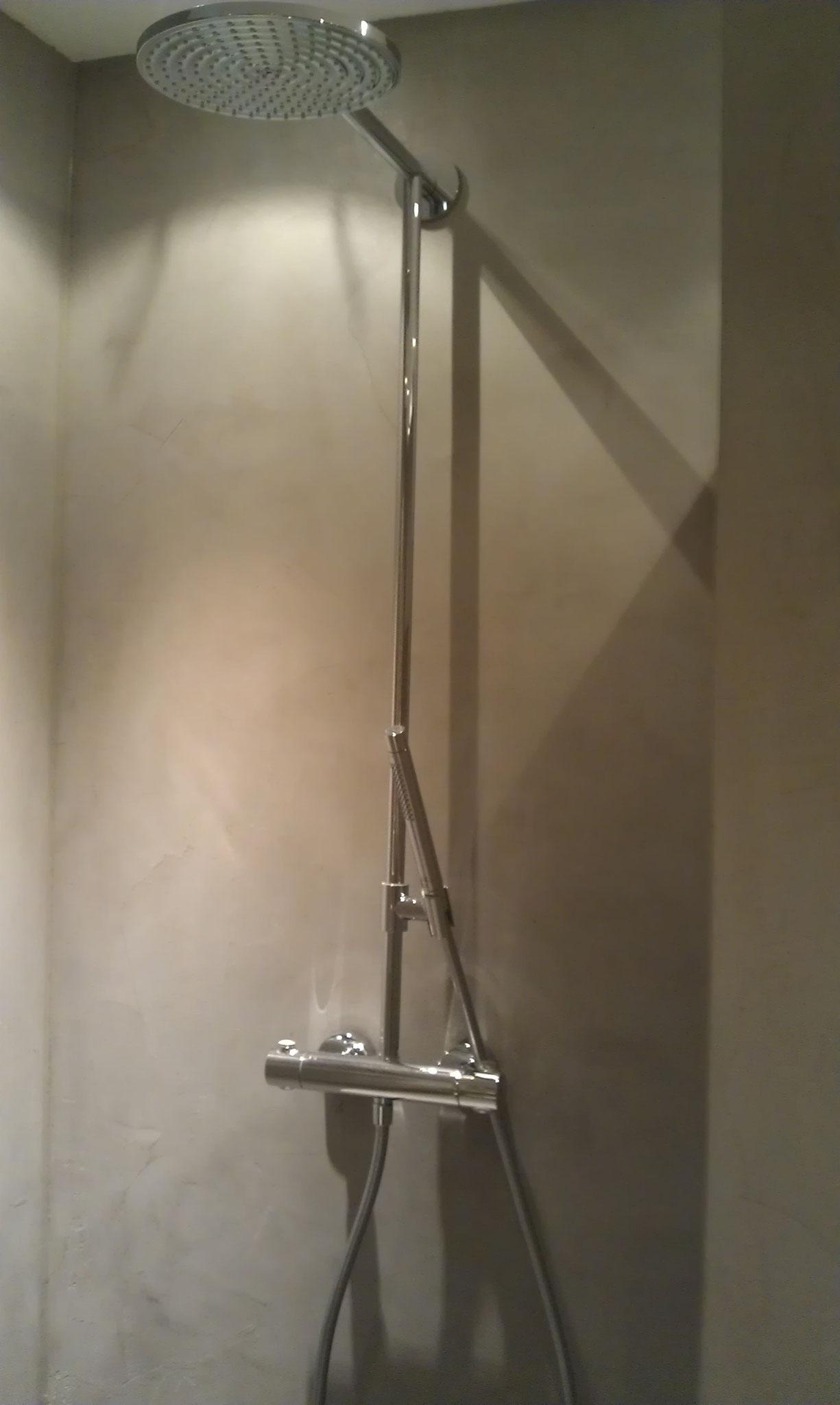 Beton Ciré in der Dusche #Interior #Wohnen #Style