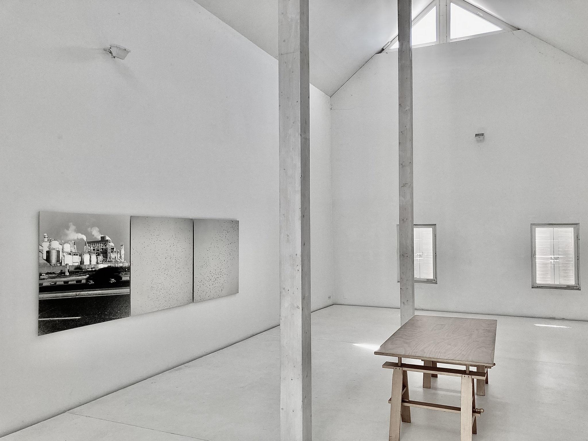 © Uwe H. Seyl exhibition view Brigitte March Stuttgart 2021