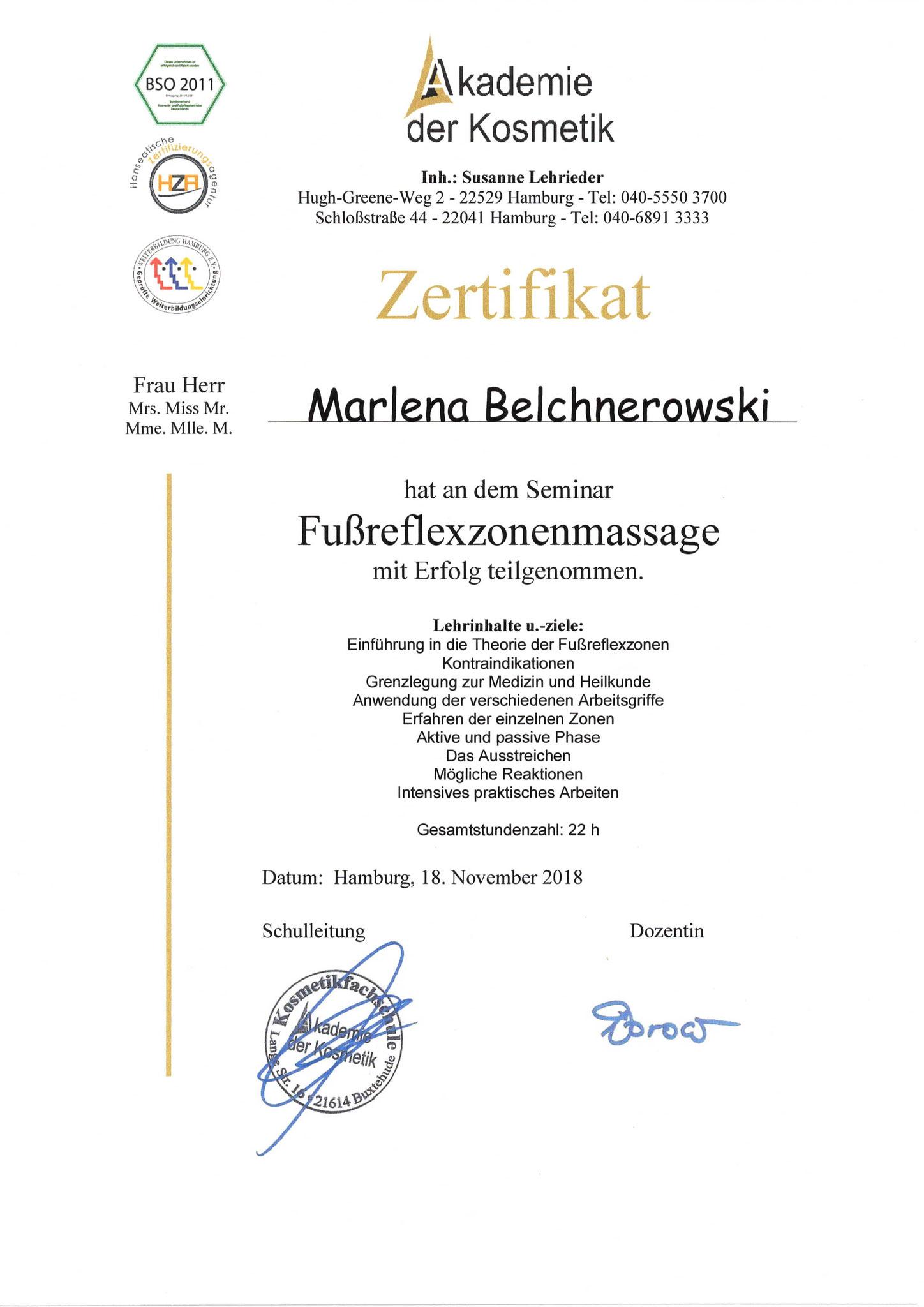 Fußpflege Hamburg Diplom 4