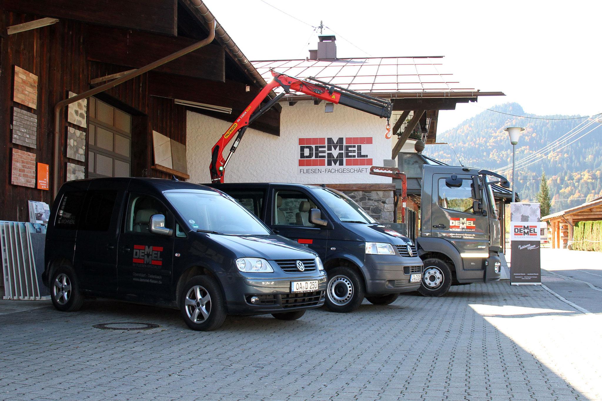 Fliesen Demmel, Fliesen für schöneres Wohnen, Fliesen Oberstdorf, Tiefenbach, Allgäu