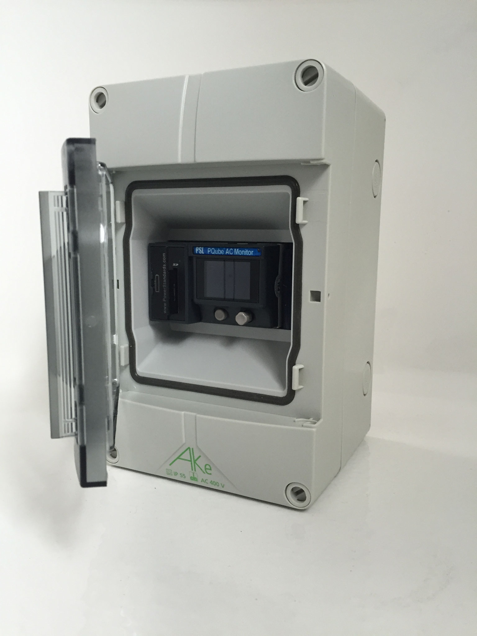 PQube Classic Single Phase Assembly.