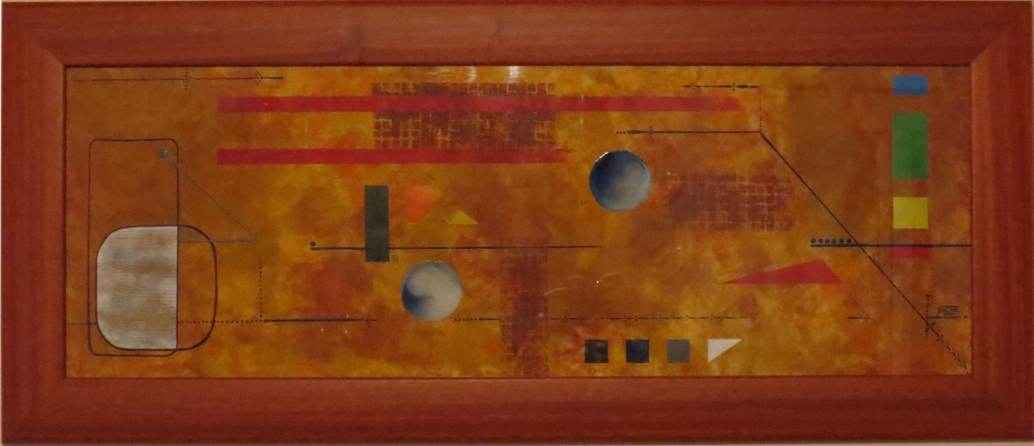 daluz galego peinture abstraite abstraction peintre abstrait
