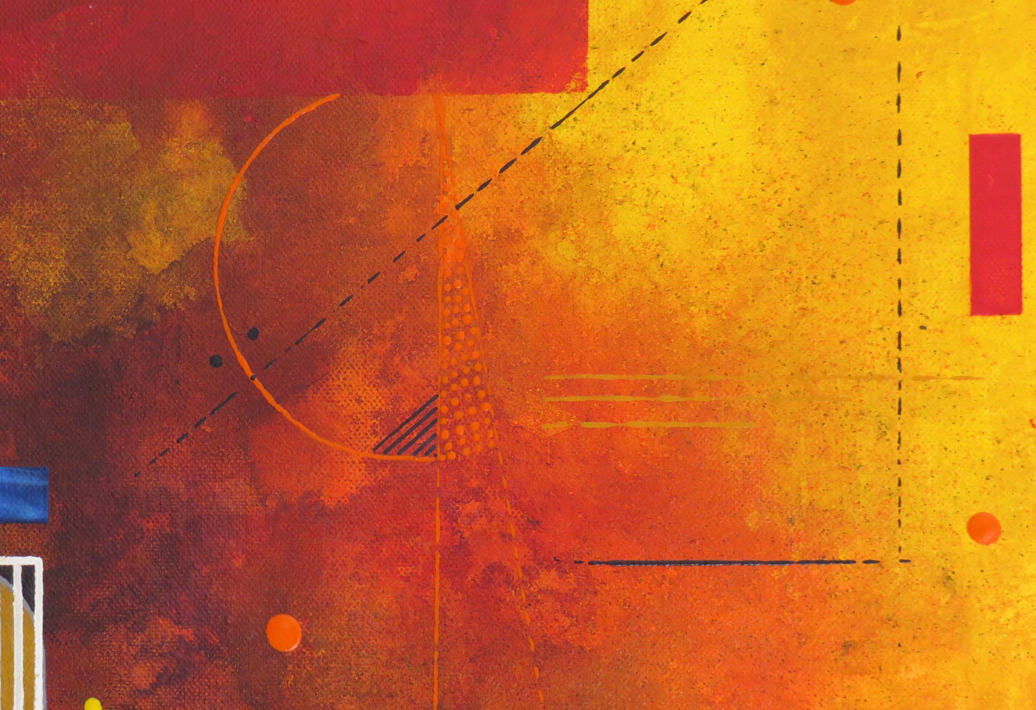 delta - zoom2 - DALUZ GALEGO - peinture abstraite