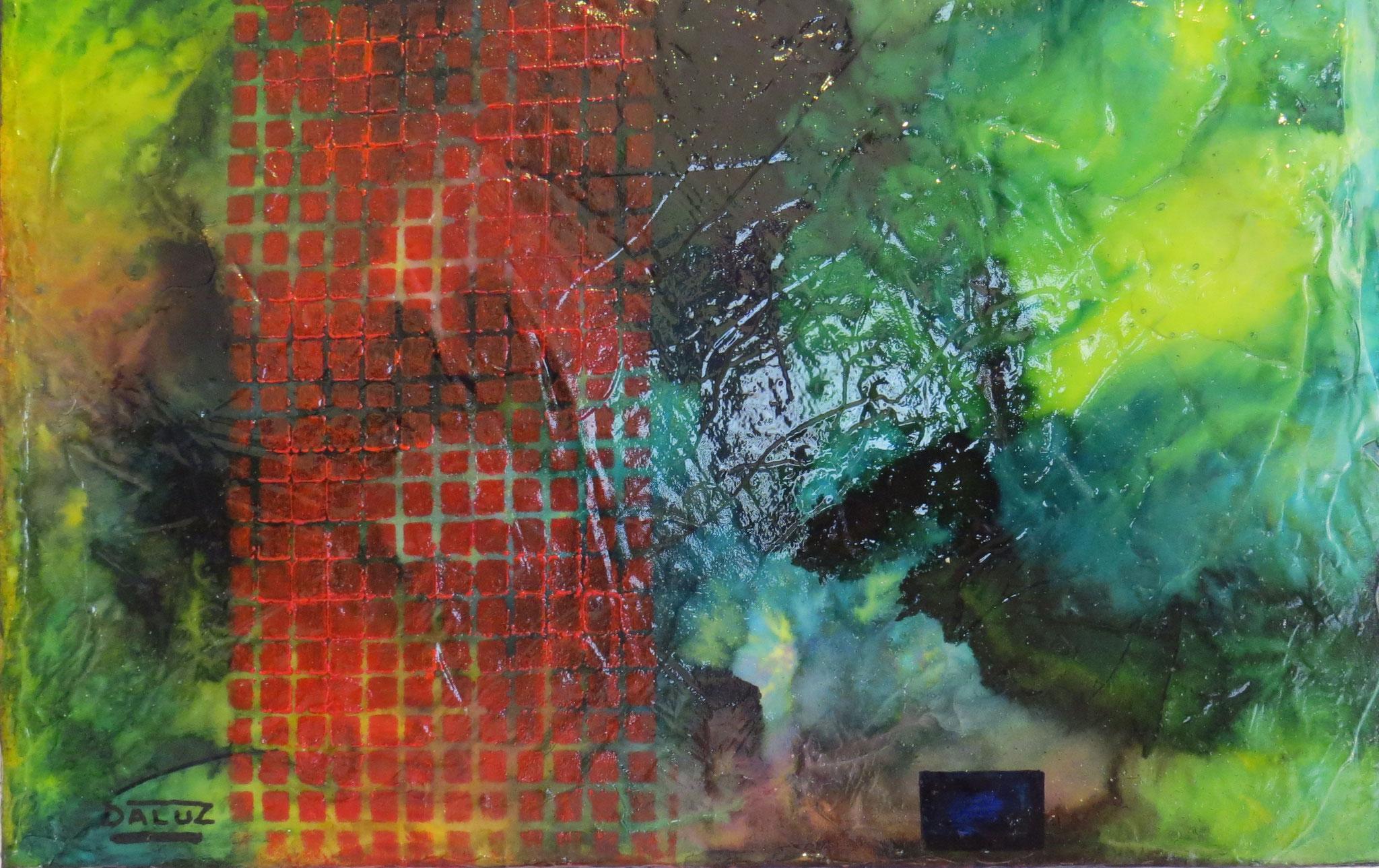 nimbes - zoom3 - DALUZ GALEGO - peinture abstraite