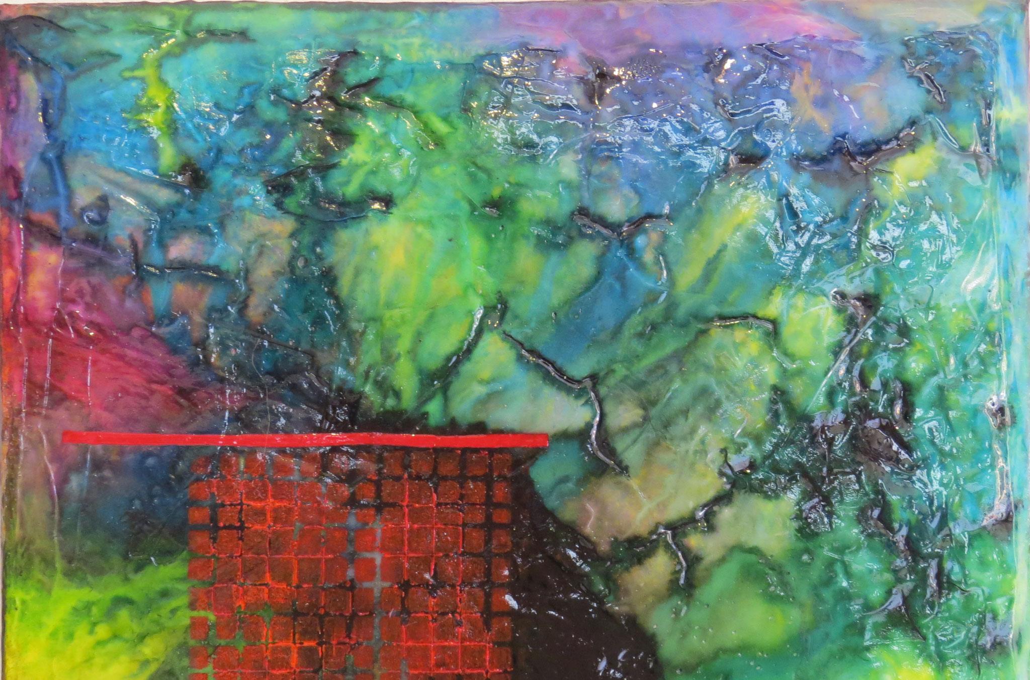 nimbes - zoom1 - DALUZ GALEGO - peinture abstraite