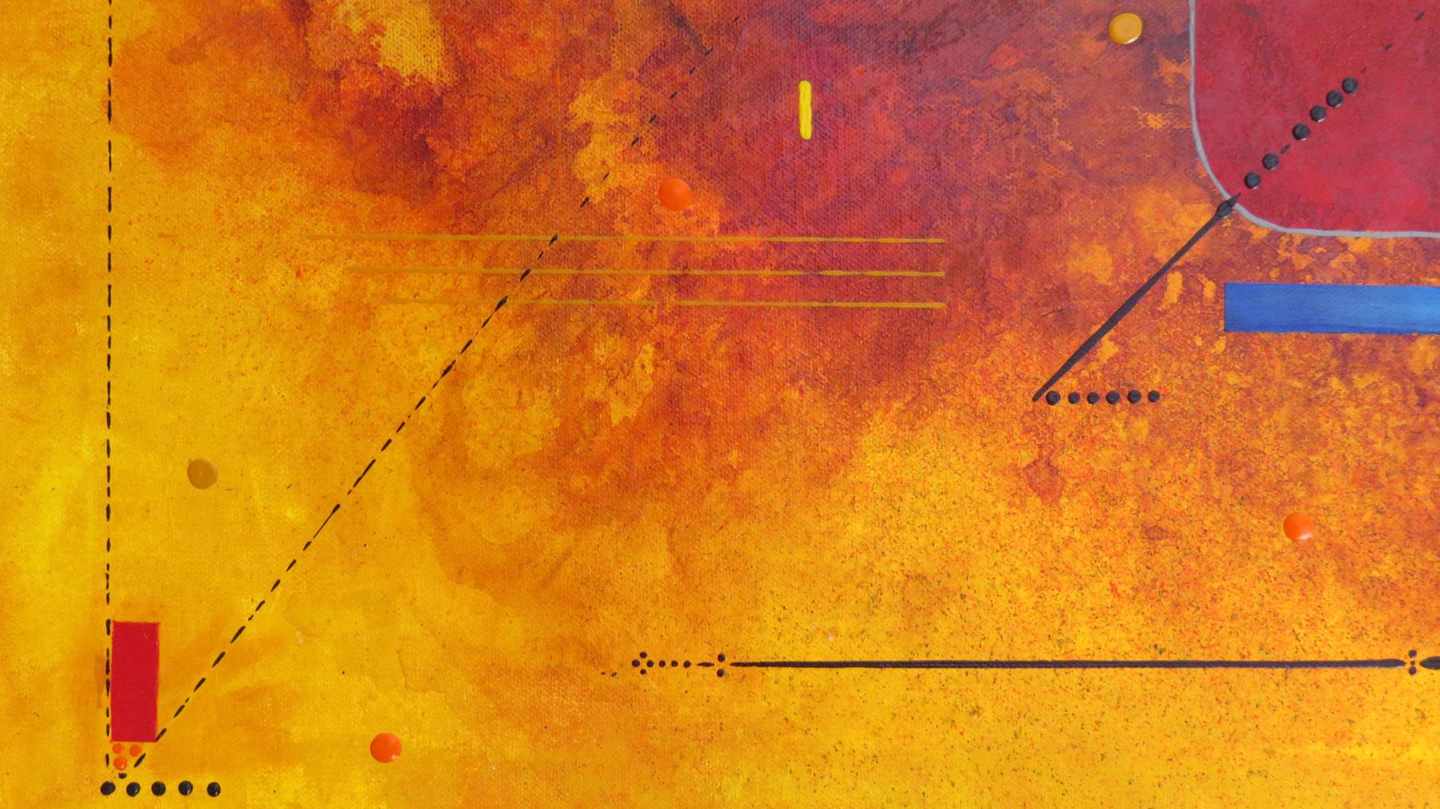 delta - zoom3 - DALUZ GALEGO - peinture abstraite