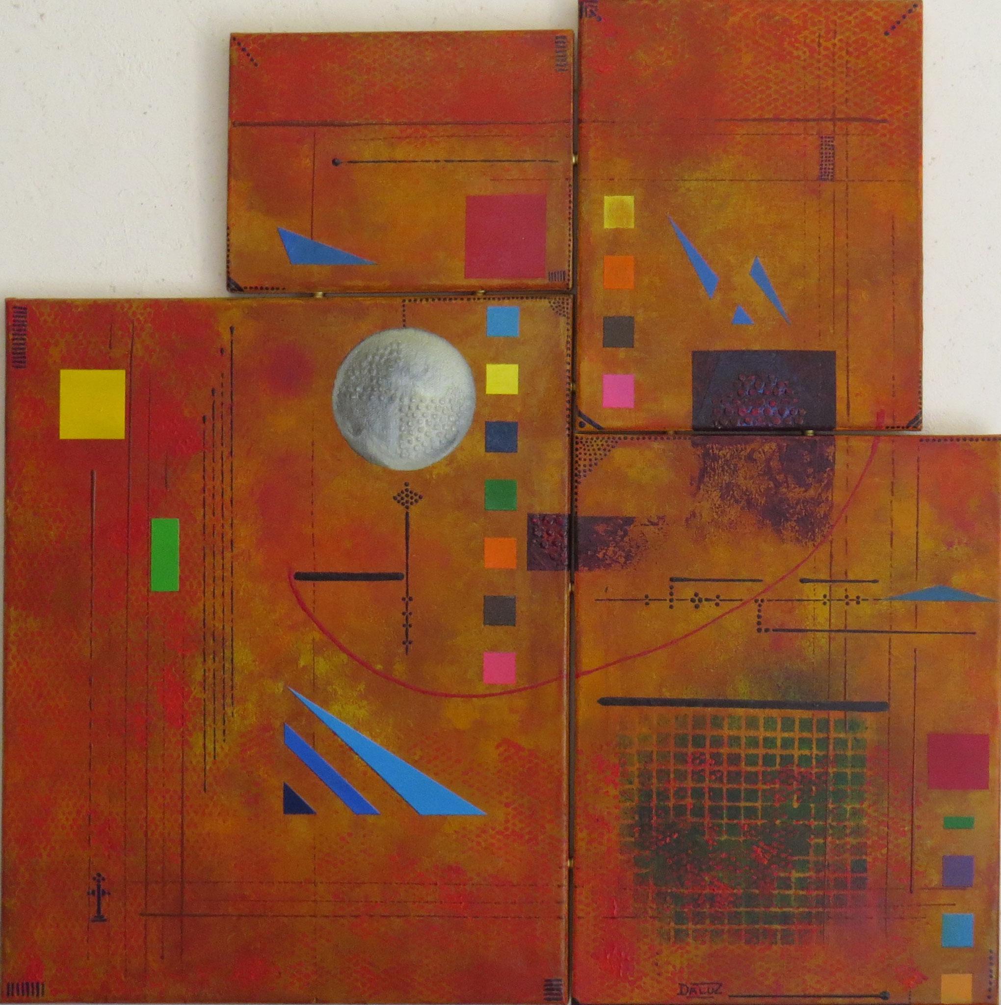 sigma - vue face1 - DALUZ GALEGO - peinture abstraite