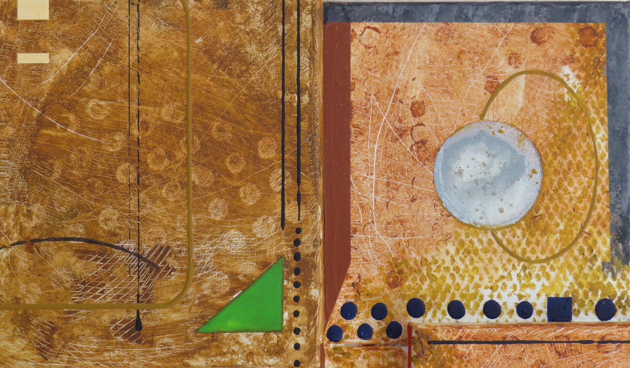 syncrétisme. vue de zoom3 - daluz galego tableau abstrait abstraction